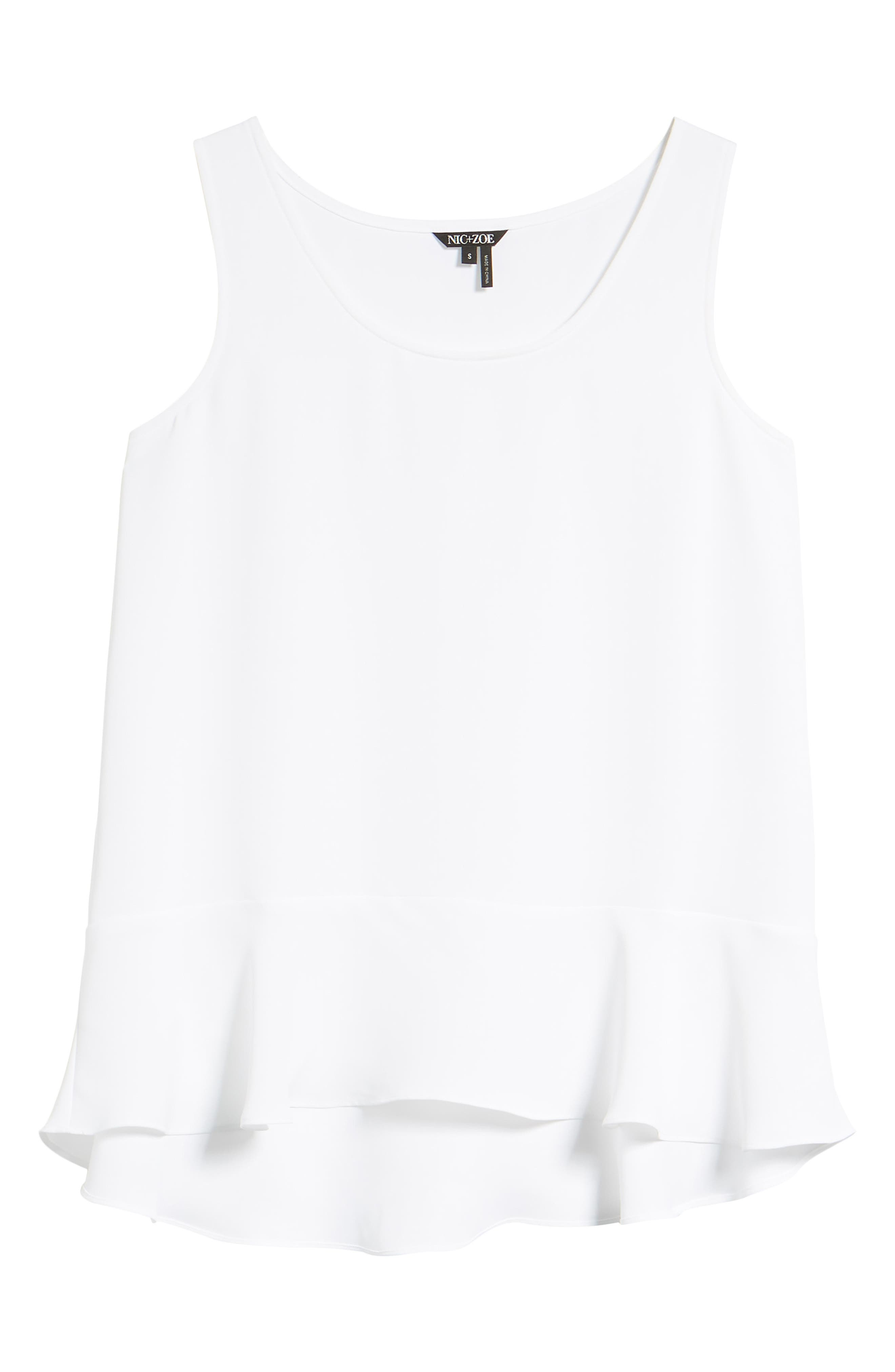 Moroccan Tank,                             Alternate thumbnail 7, color,                             Paper White