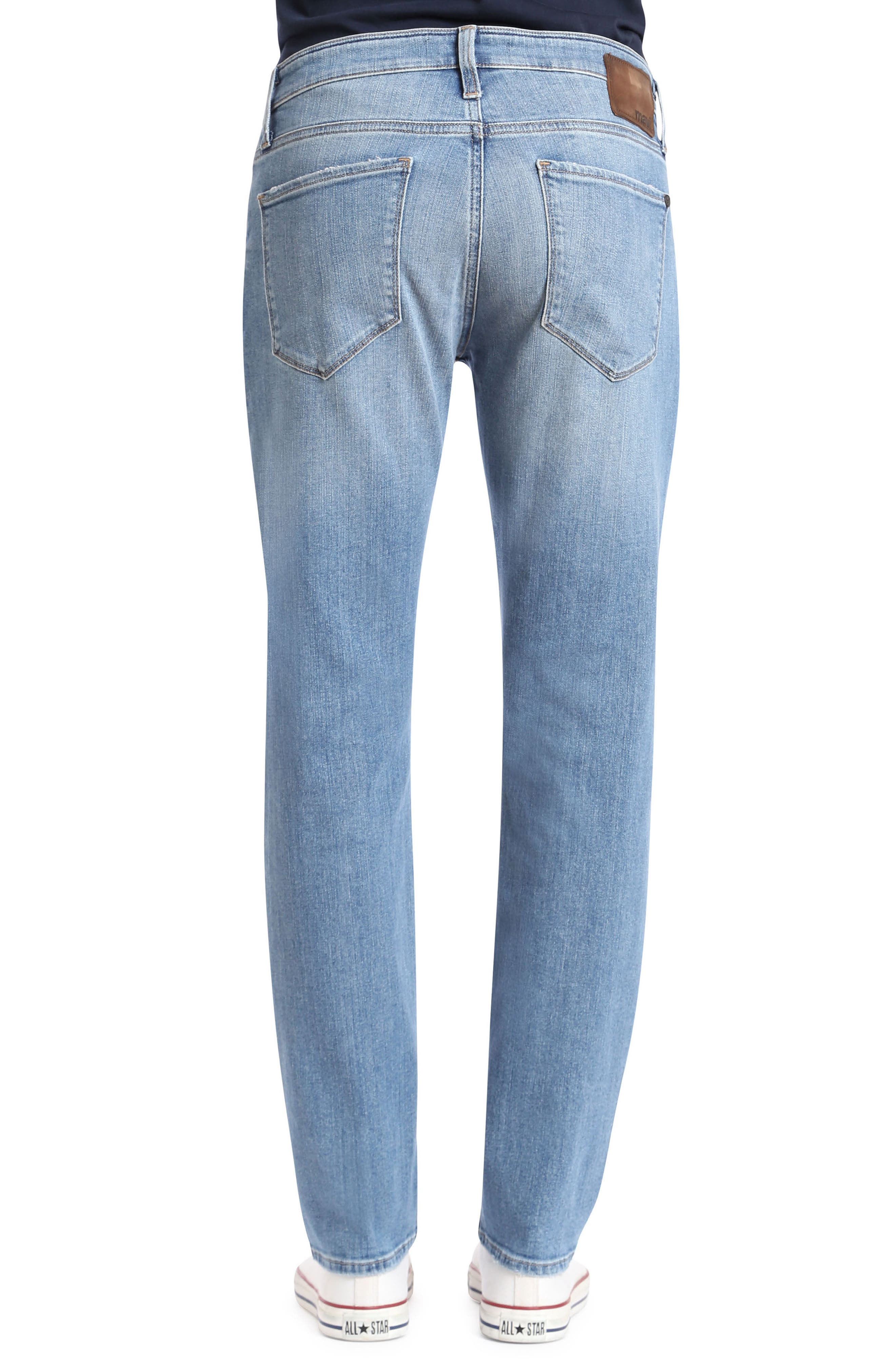 Marcus Slim Straight Leg Jeans,                             Alternate thumbnail 2, color,                             Light Used Authentic Vintage