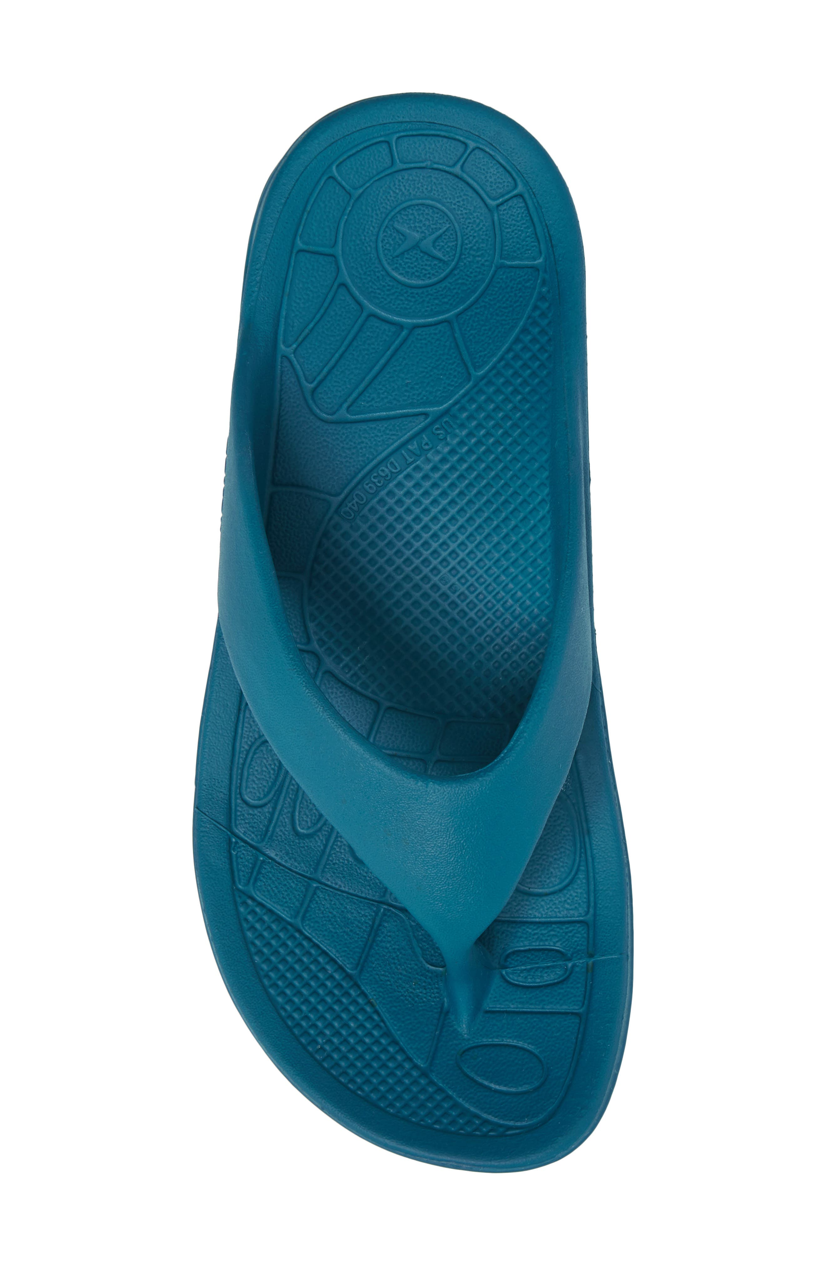 Lynco Flip Flop,                             Alternate thumbnail 5, color,                             Blue
