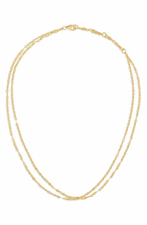 image anchor inc necklace gold large chains products diamonds iceberg chain