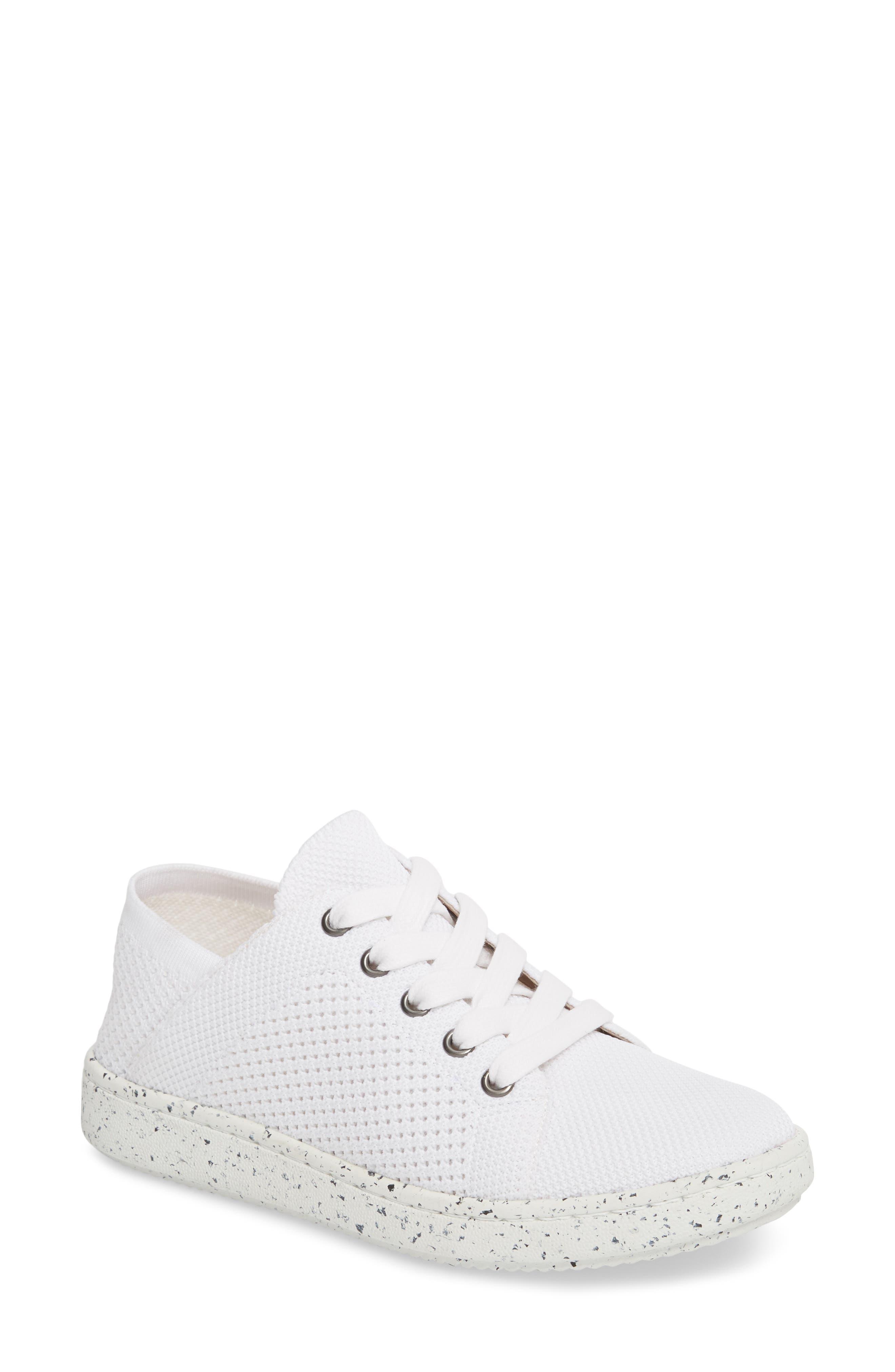 Clifton Sneaker,                             Main thumbnail 1, color,                             White Fabric