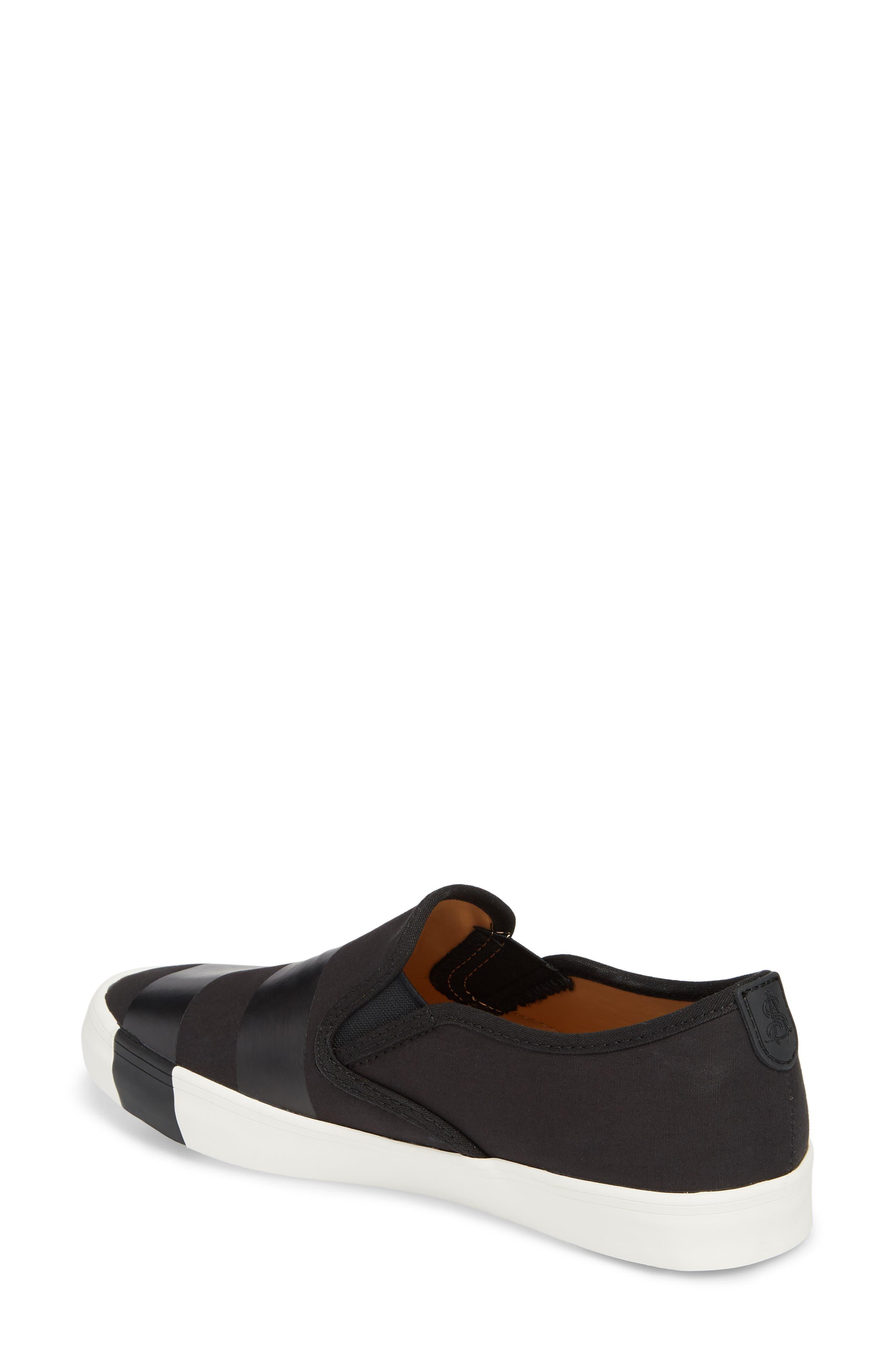The Hammonds Slip-On Sneaker,                             Alternate thumbnail 2, color,                             Black On Black