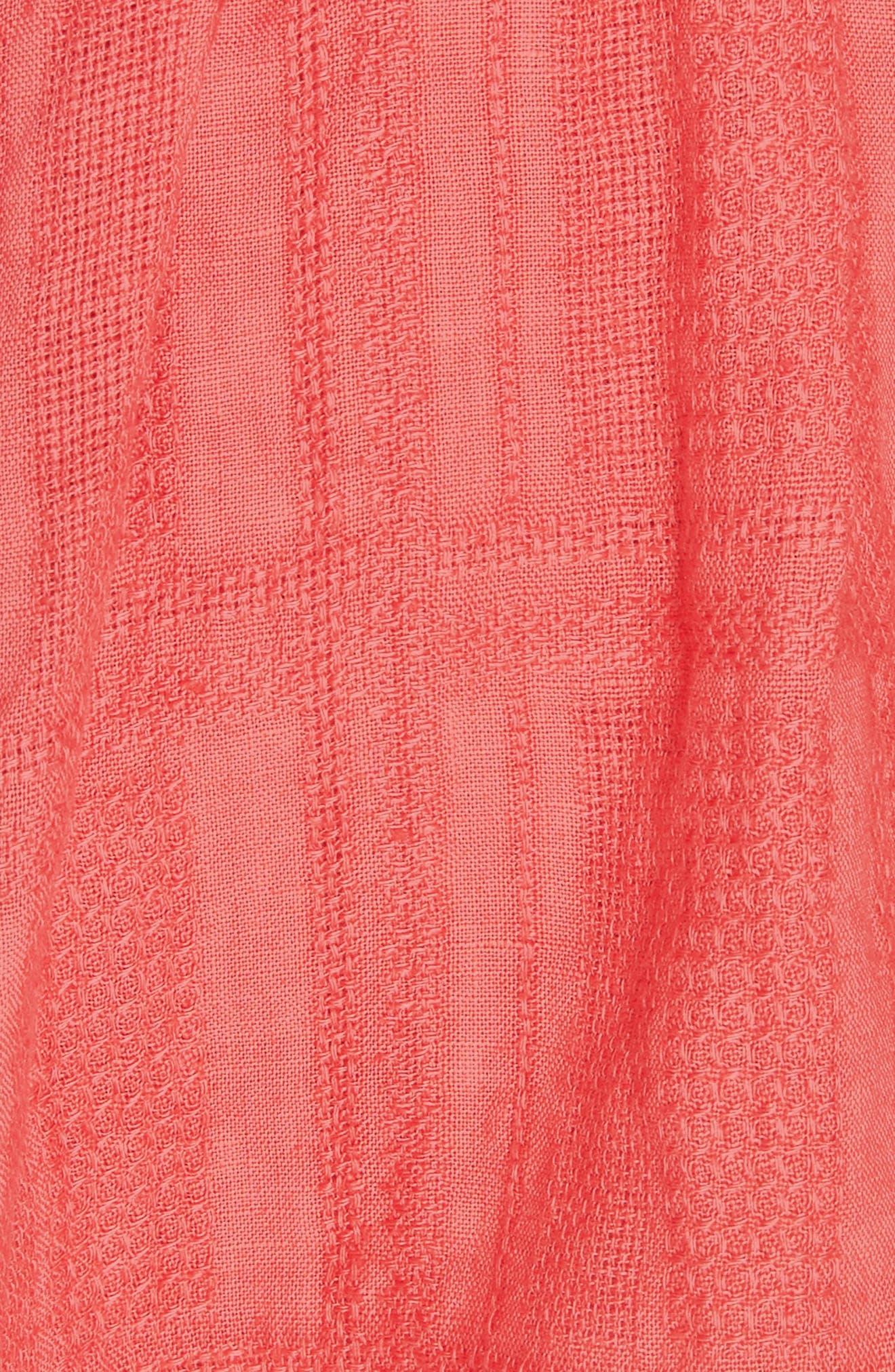 Daze Away Skort,                             Alternate thumbnail 5, color,                             Coral