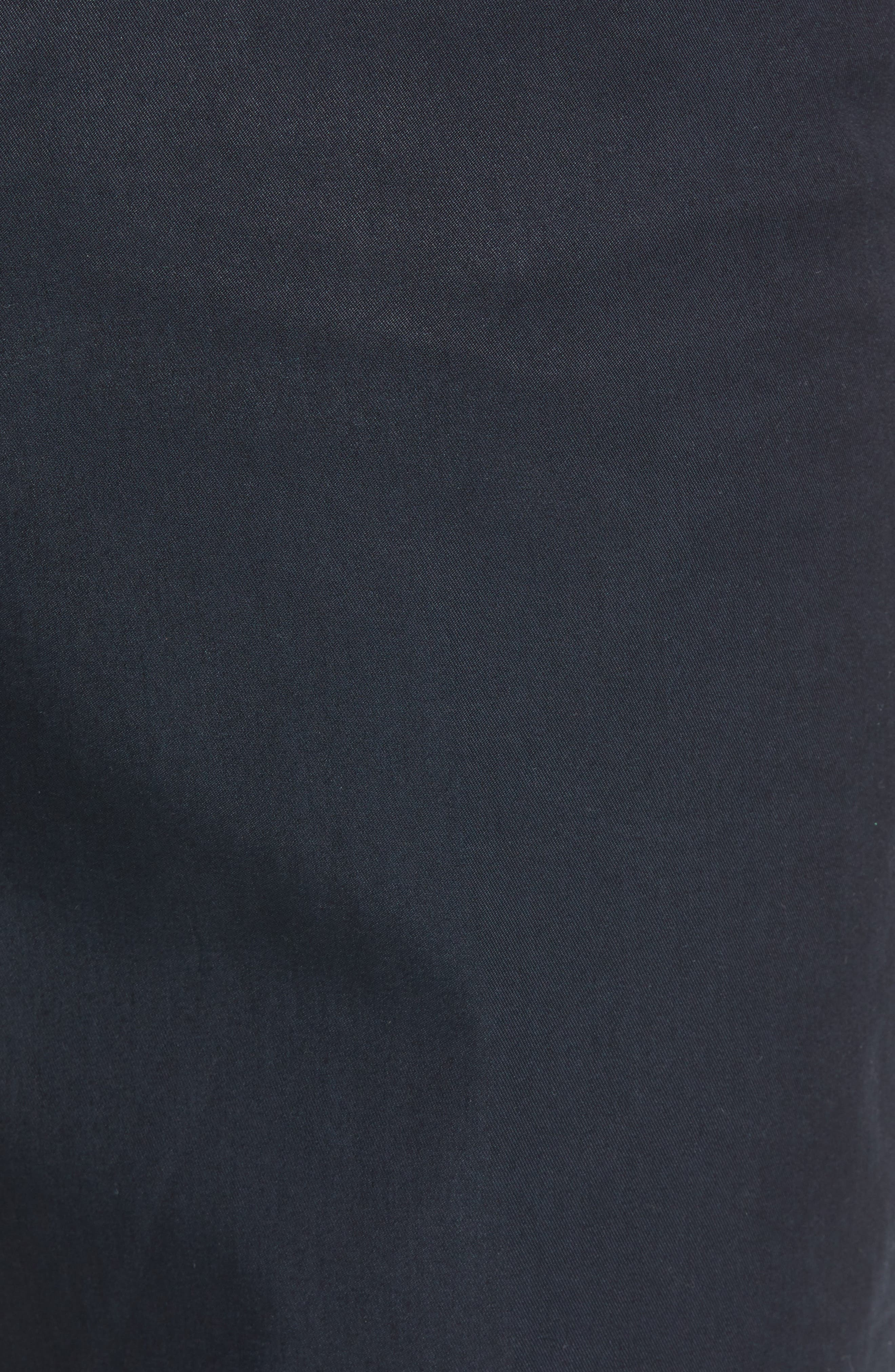 M2 Classic Fit Flat Front Travel Twill Pants,                             Alternate thumbnail 5, color,                             Navy