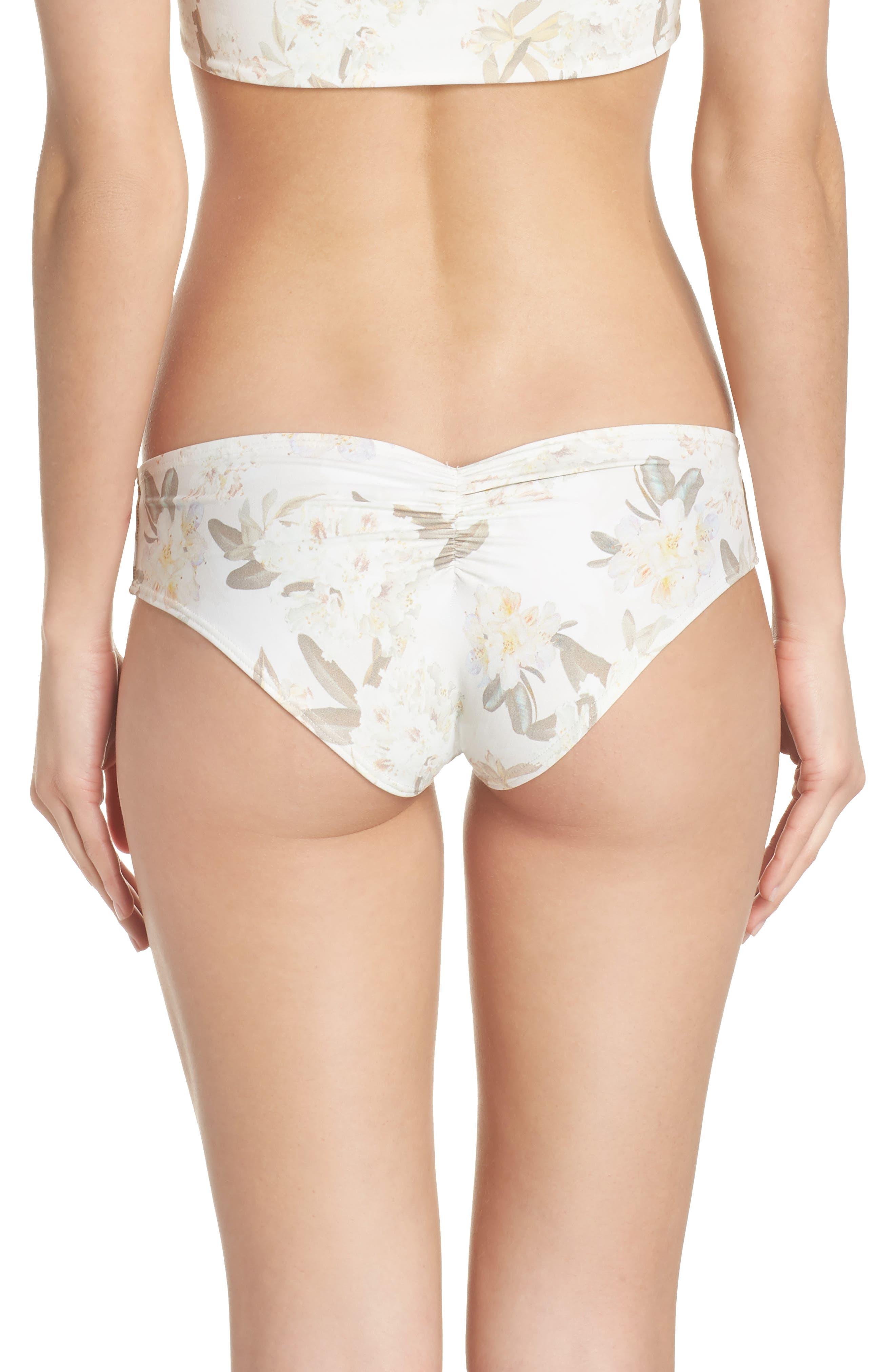 AC Nu Micro Bikini Bottoms,                             Alternate thumbnail 2, color,                             Ete Floral White