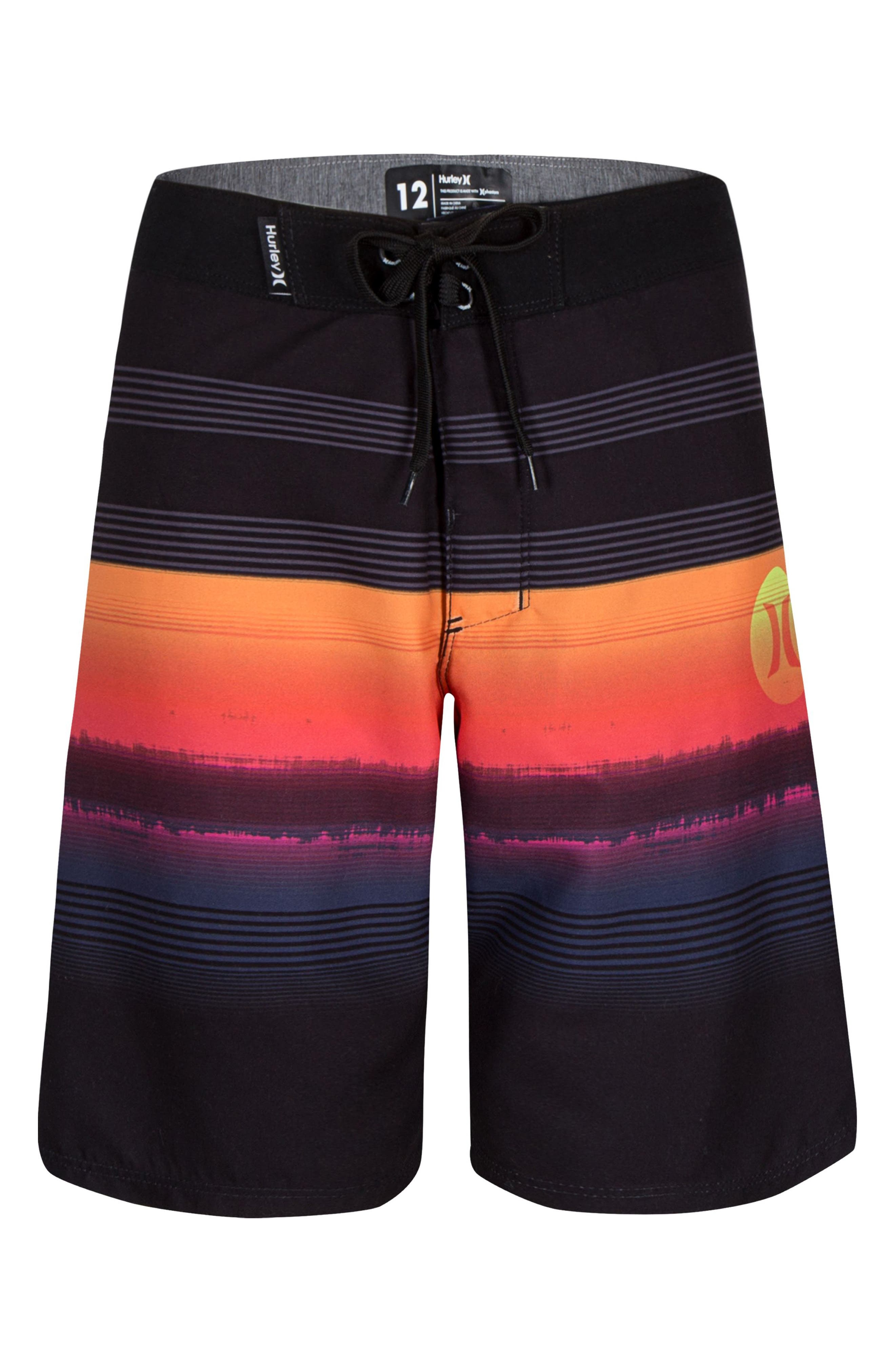 Gavitos Board Shorts,                         Main,                         color, Black