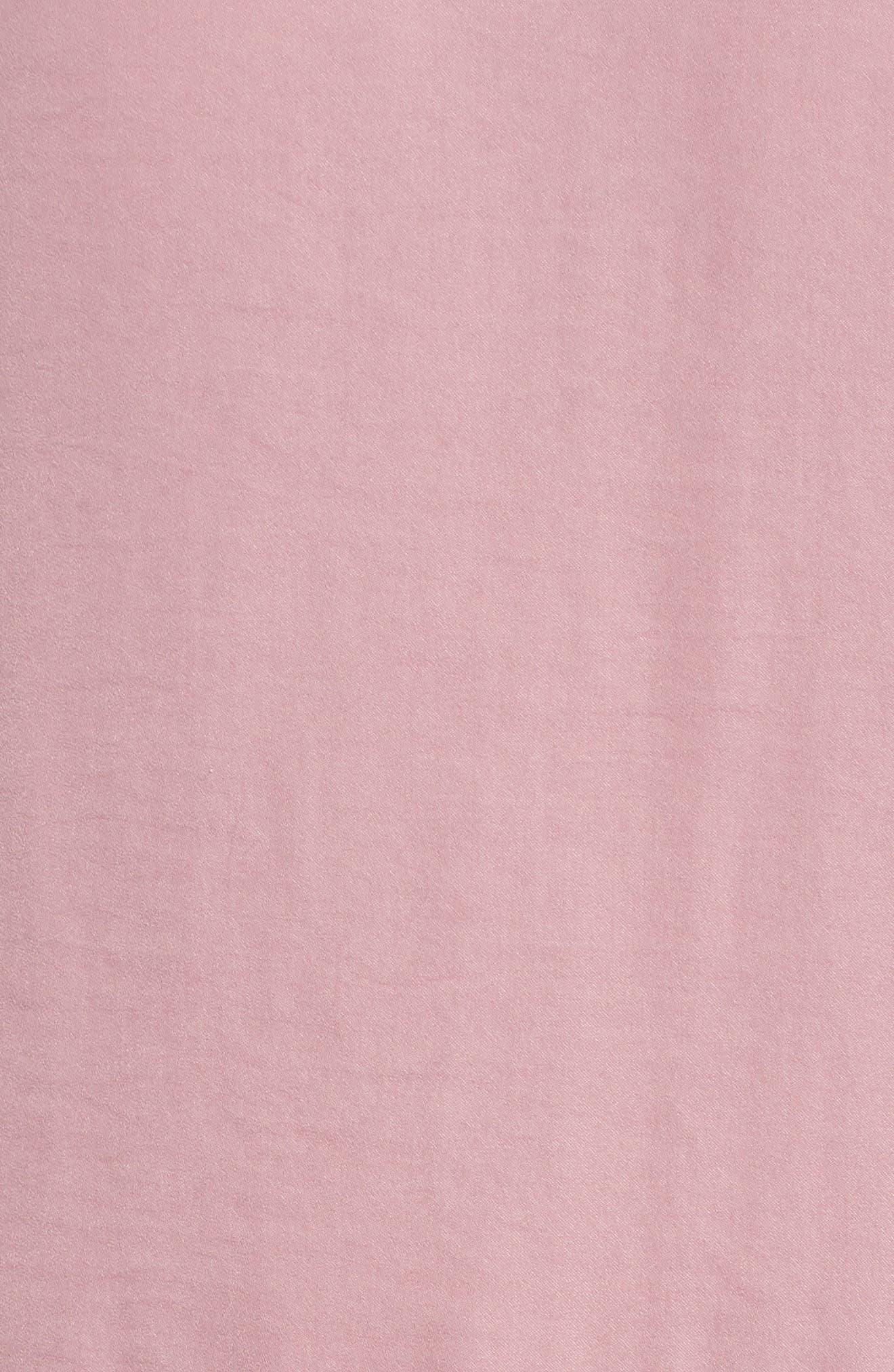 Sweet Dreams Satin Pajamas,                             Alternate thumbnail 5, color,                             Purple Lilas