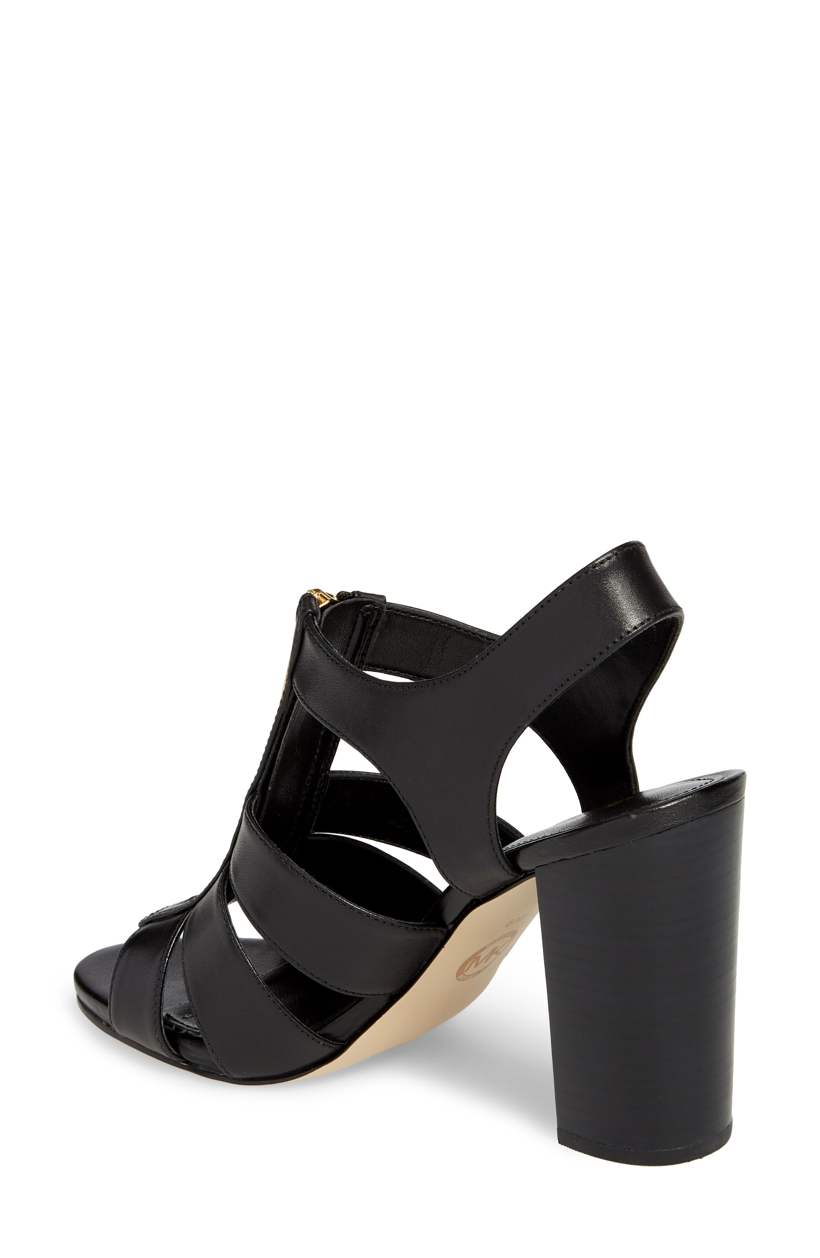 Damita Sandal,                             Alternate thumbnail 2, color,                             Black