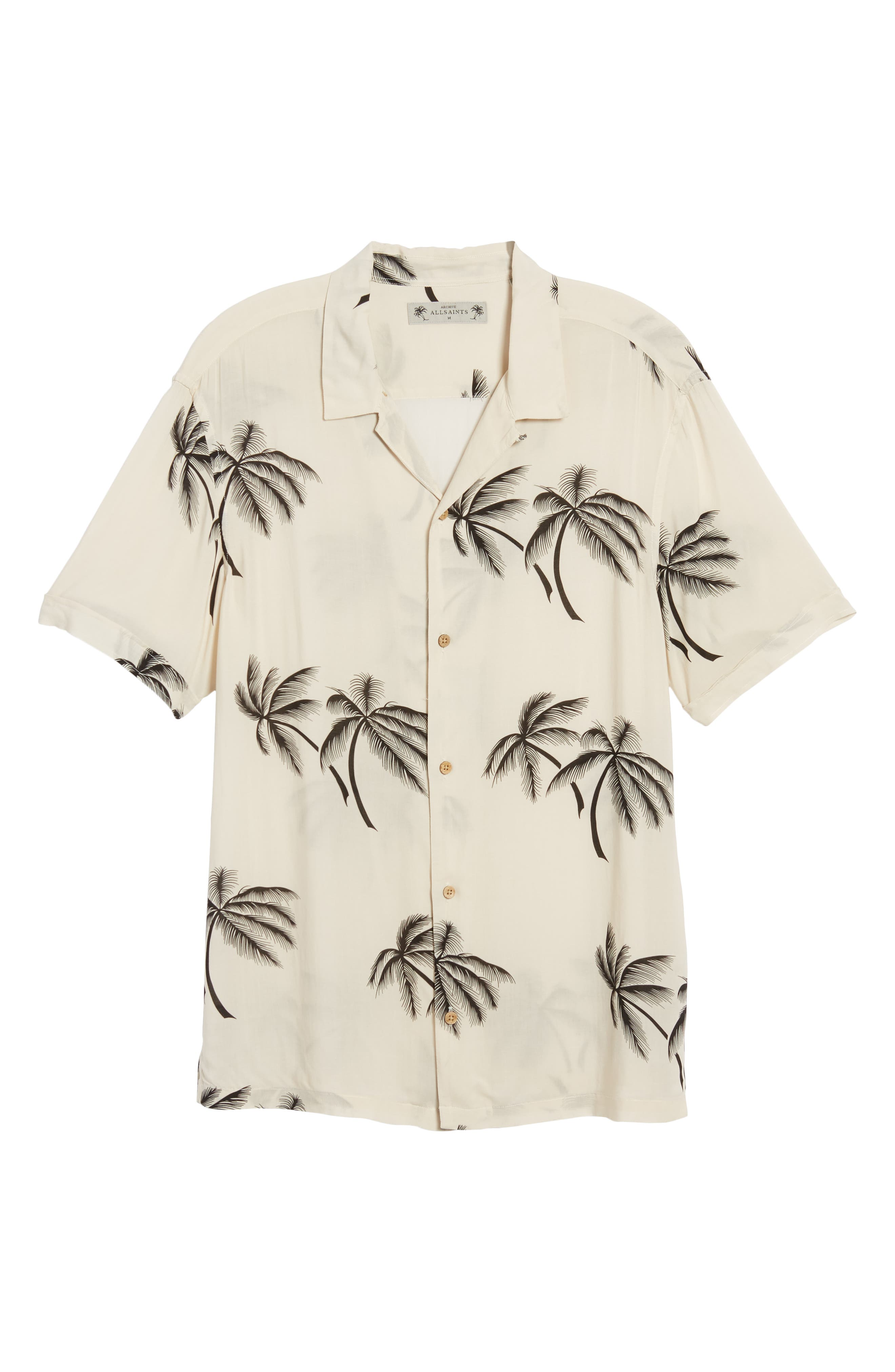 Offshore Regular Fit Short Sleeve Sport Shirt,                             Alternate thumbnail 6, color,                             Ecru