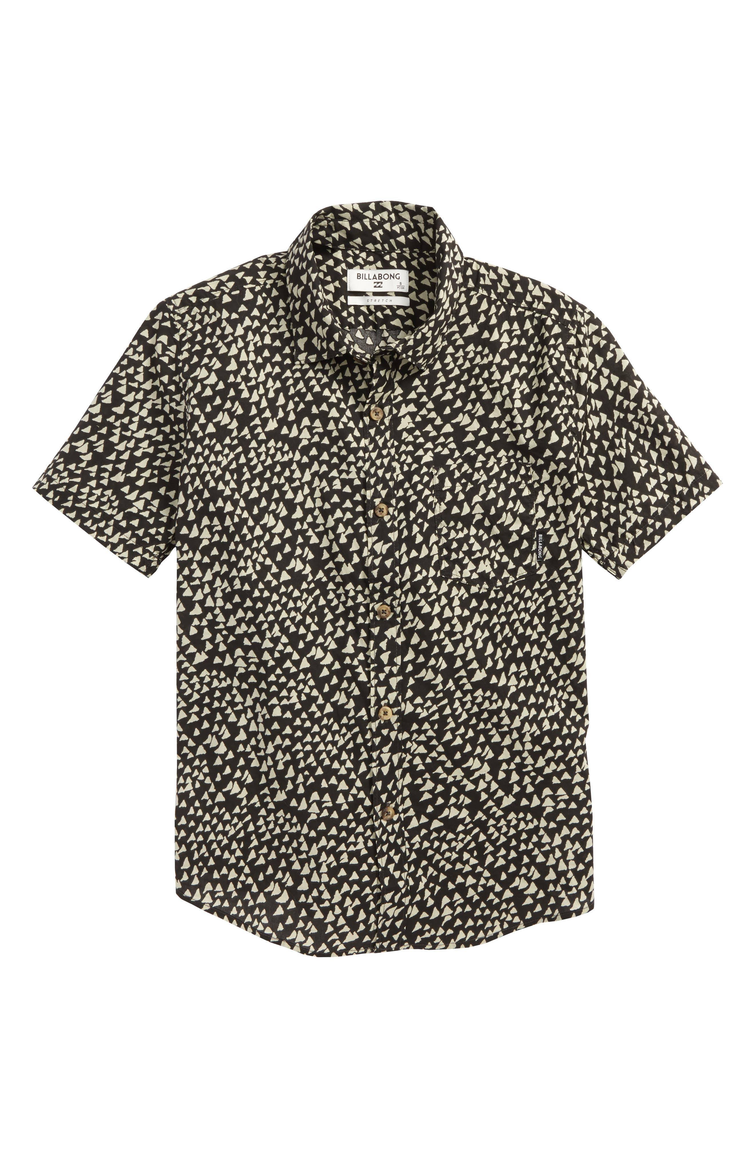 Sundays Woven Shirt,                         Main,                         color, Char