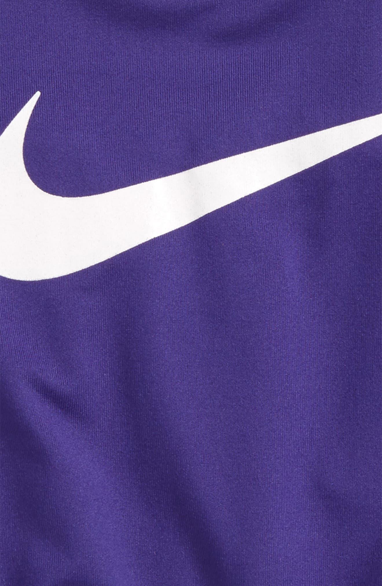 Dri-FIT Sport Romper,                             Alternate thumbnail 2, color,                             Fusion Violet