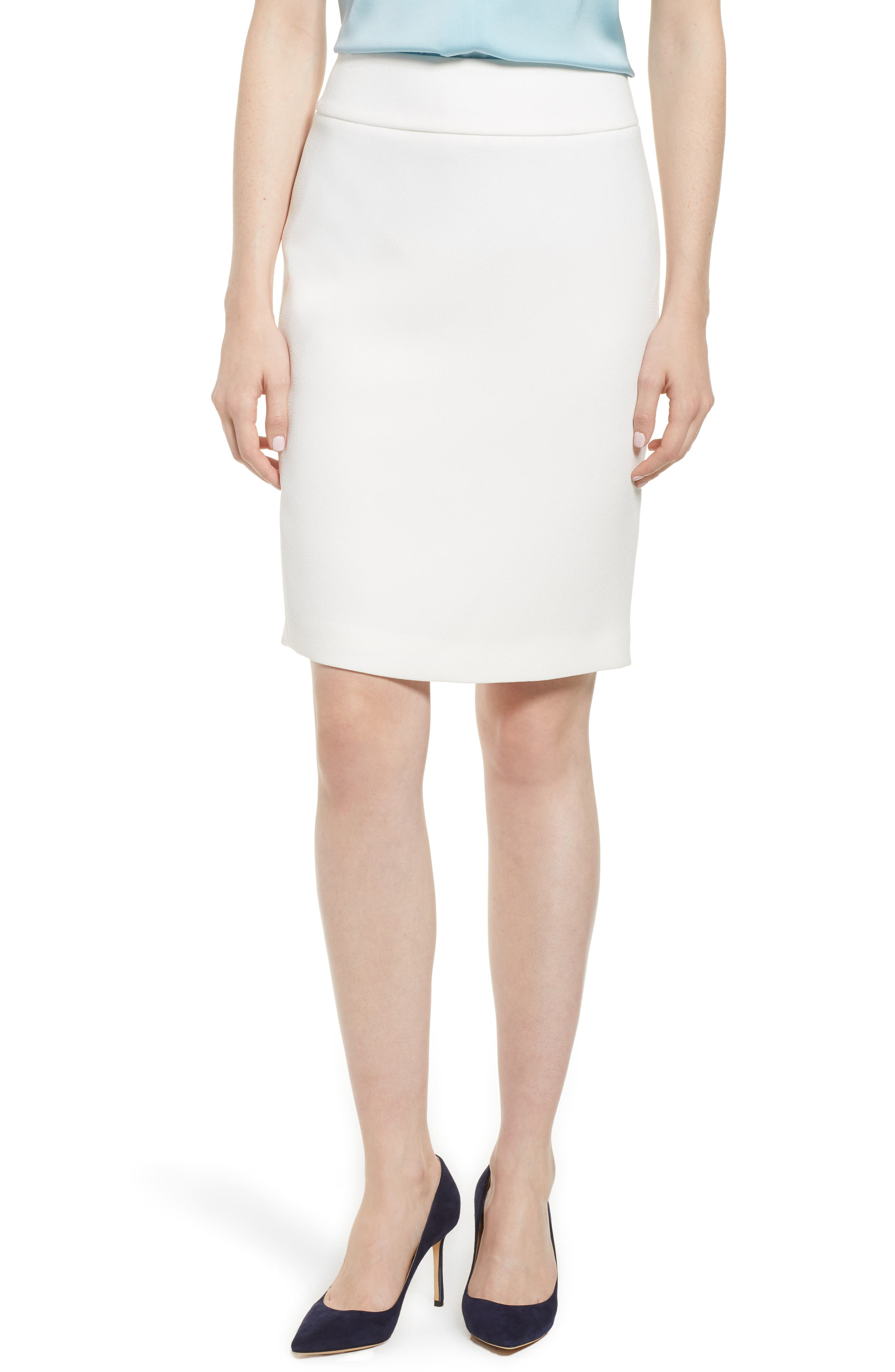 BOSS Vamalea Compact Crepe Skirt