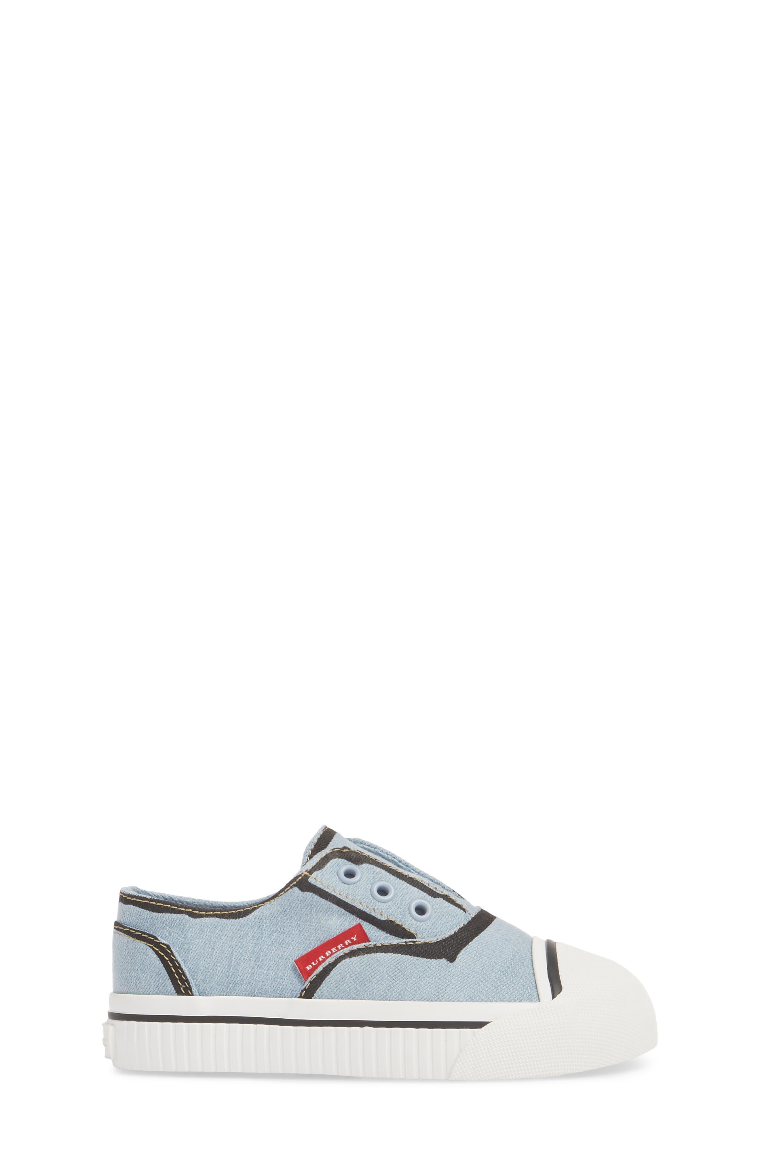 Alternate Image 3  - Burberry Lipton Slip-On Sneaker (Walker & Toddler)