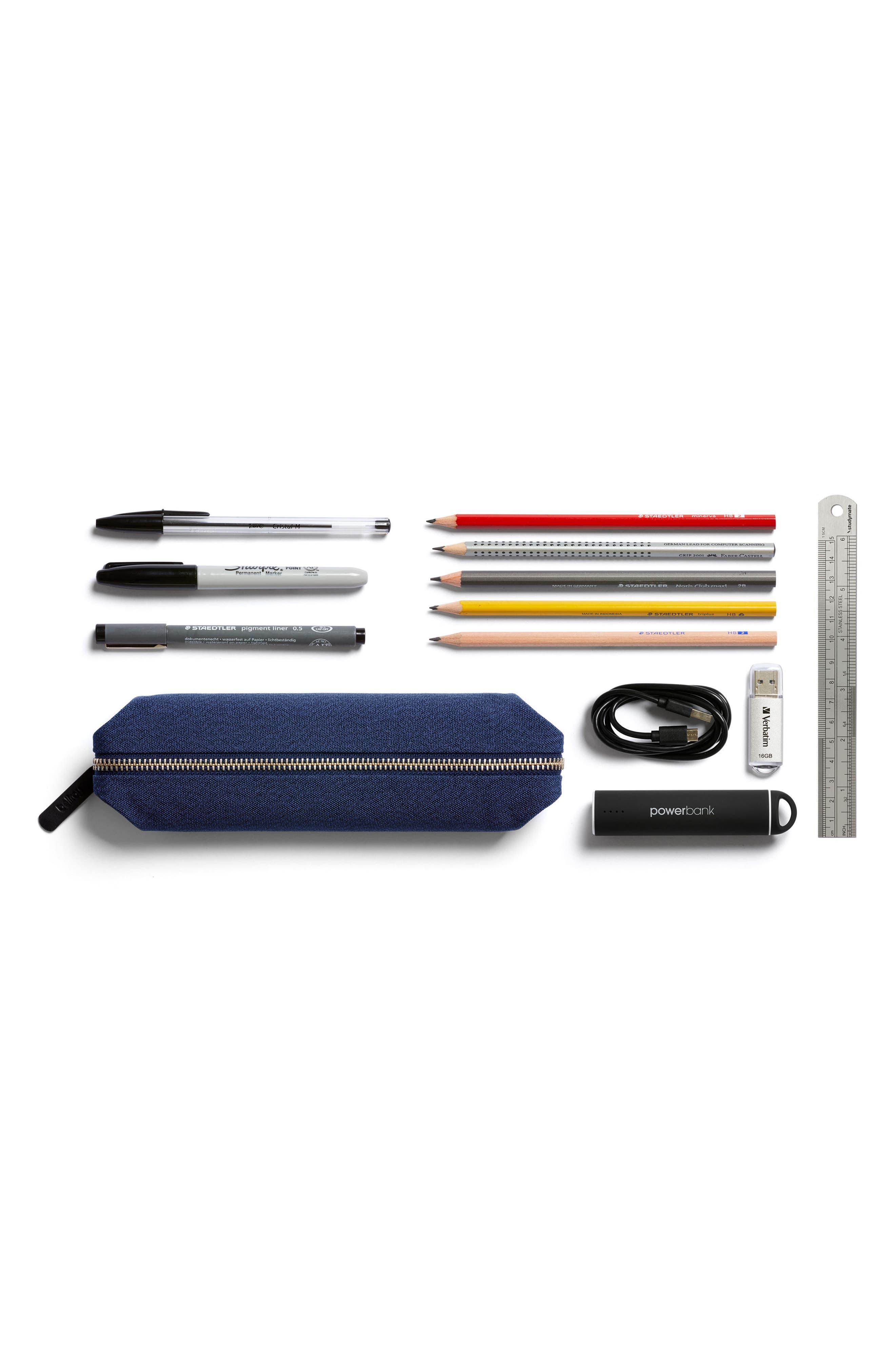 Canvas Pencil Case,                             Alternate thumbnail 6, color,
