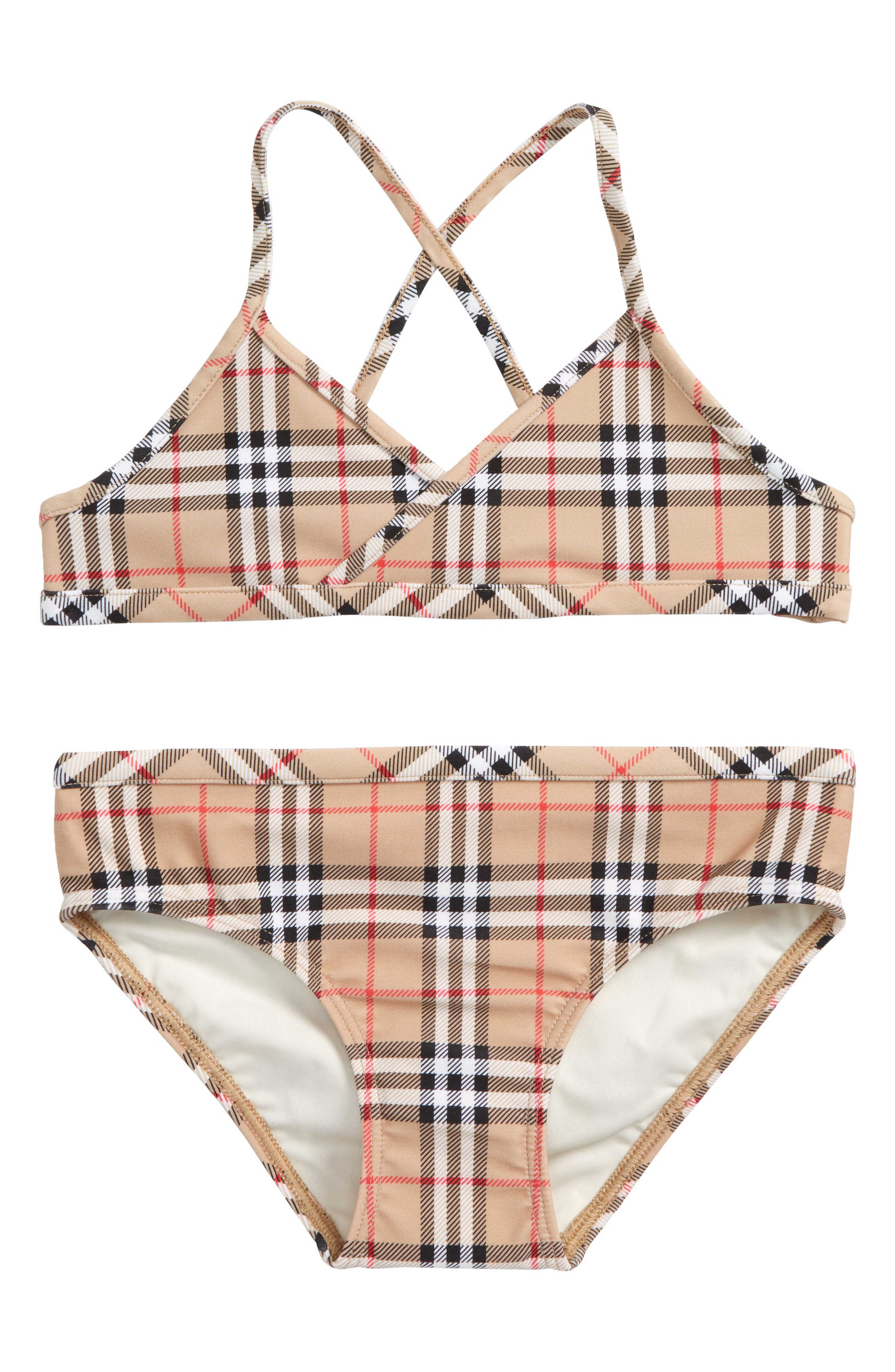 Crosby Two-Piece Swimsuit,                         Main,                         color, Camel
