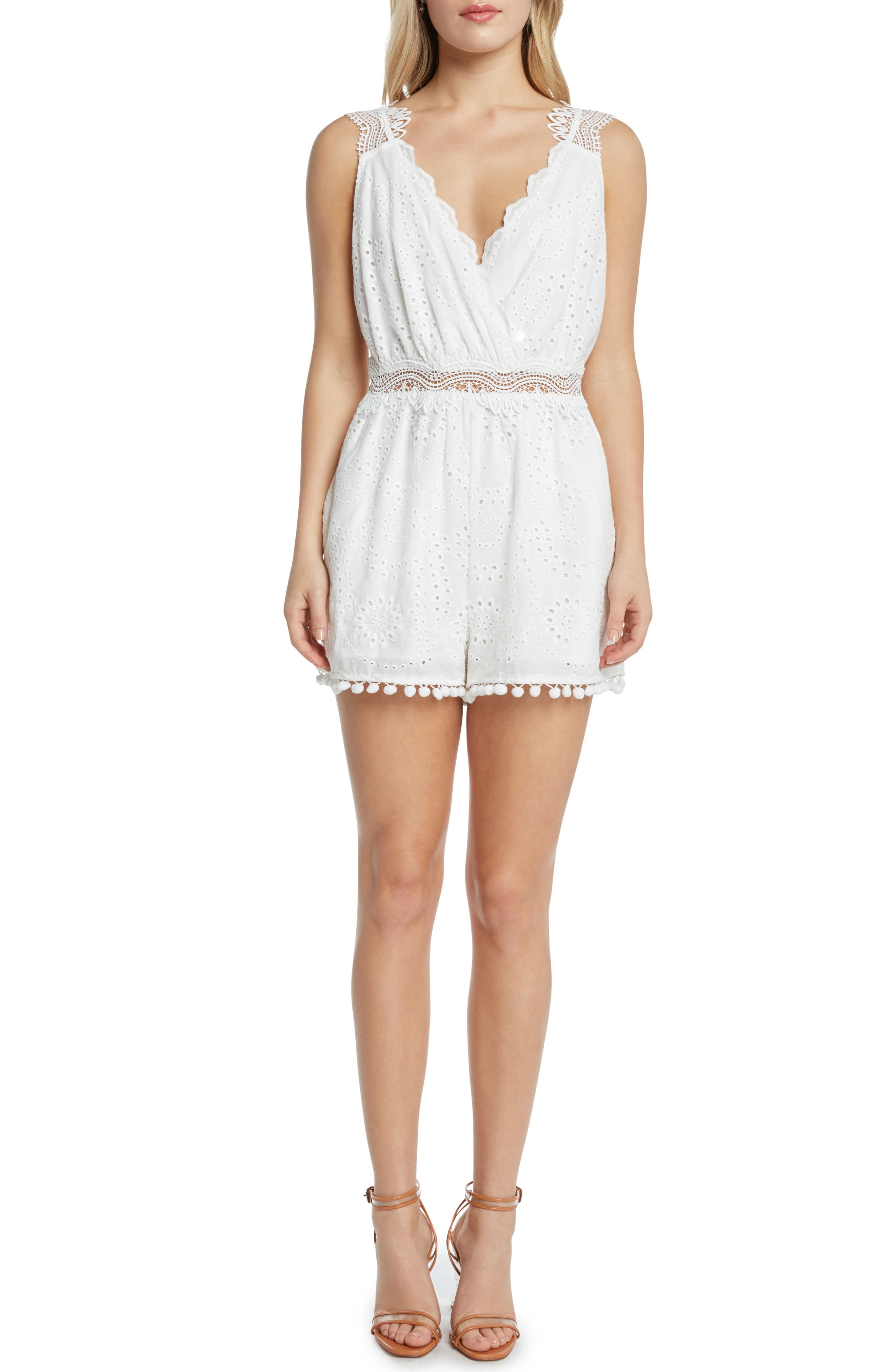 Willow & Clay Eyelet Romper