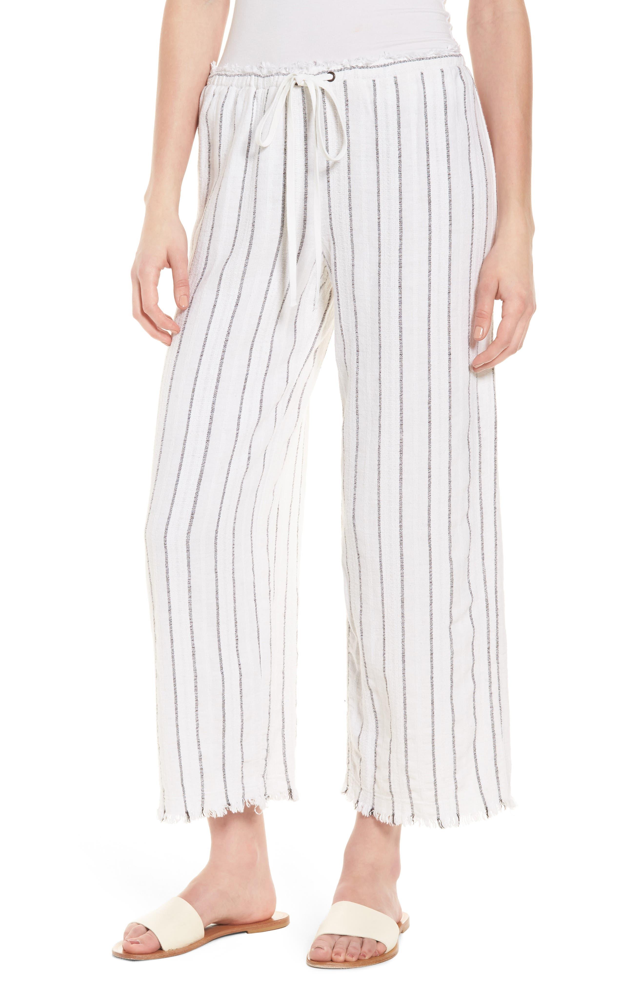 Bailey 44 Poppy Seed Stripe Pants