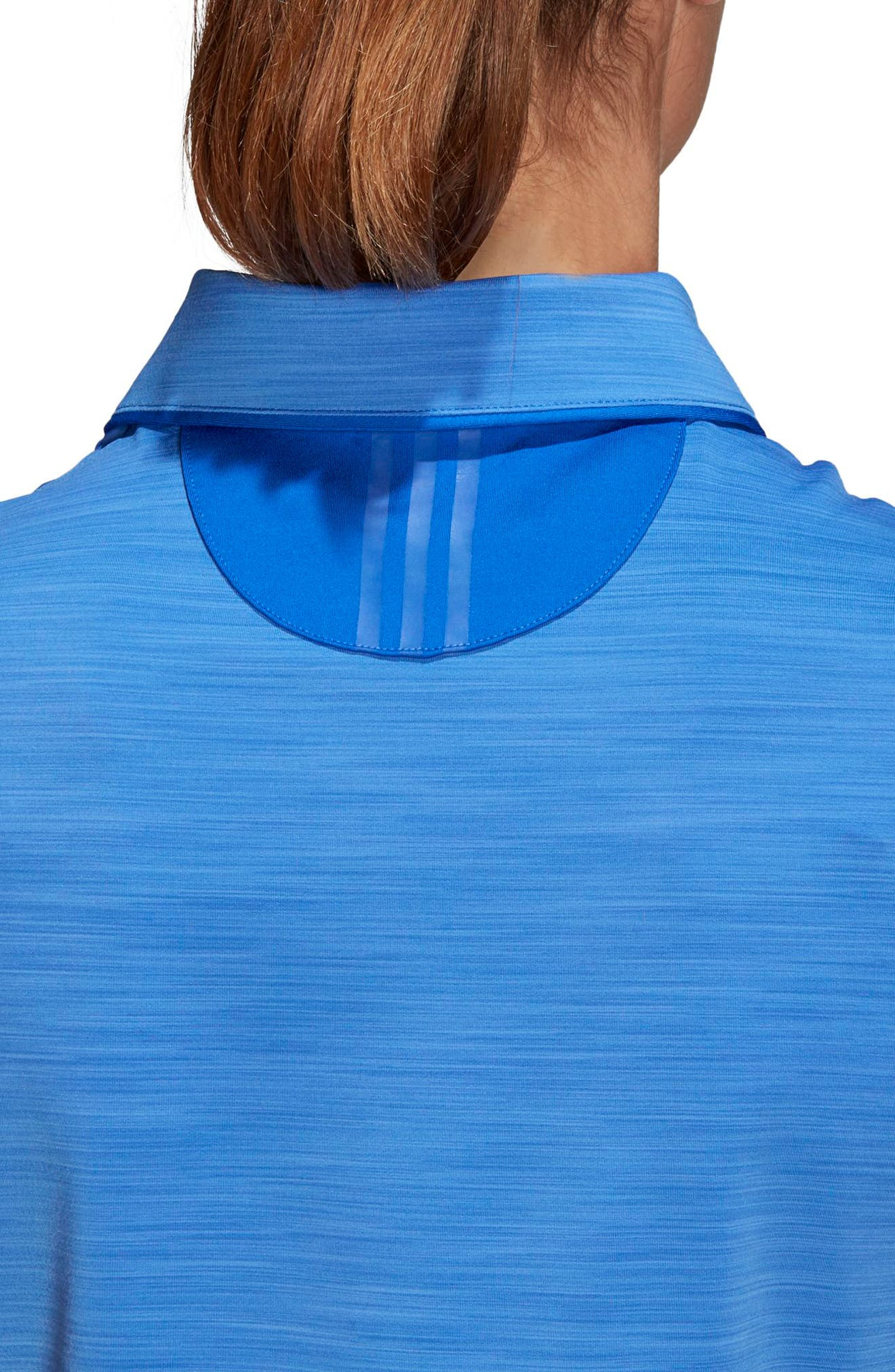 Ultimate365 Sleeveless Golf Polo,                             Alternate thumbnail 6, color,                             Hi-Res Blue