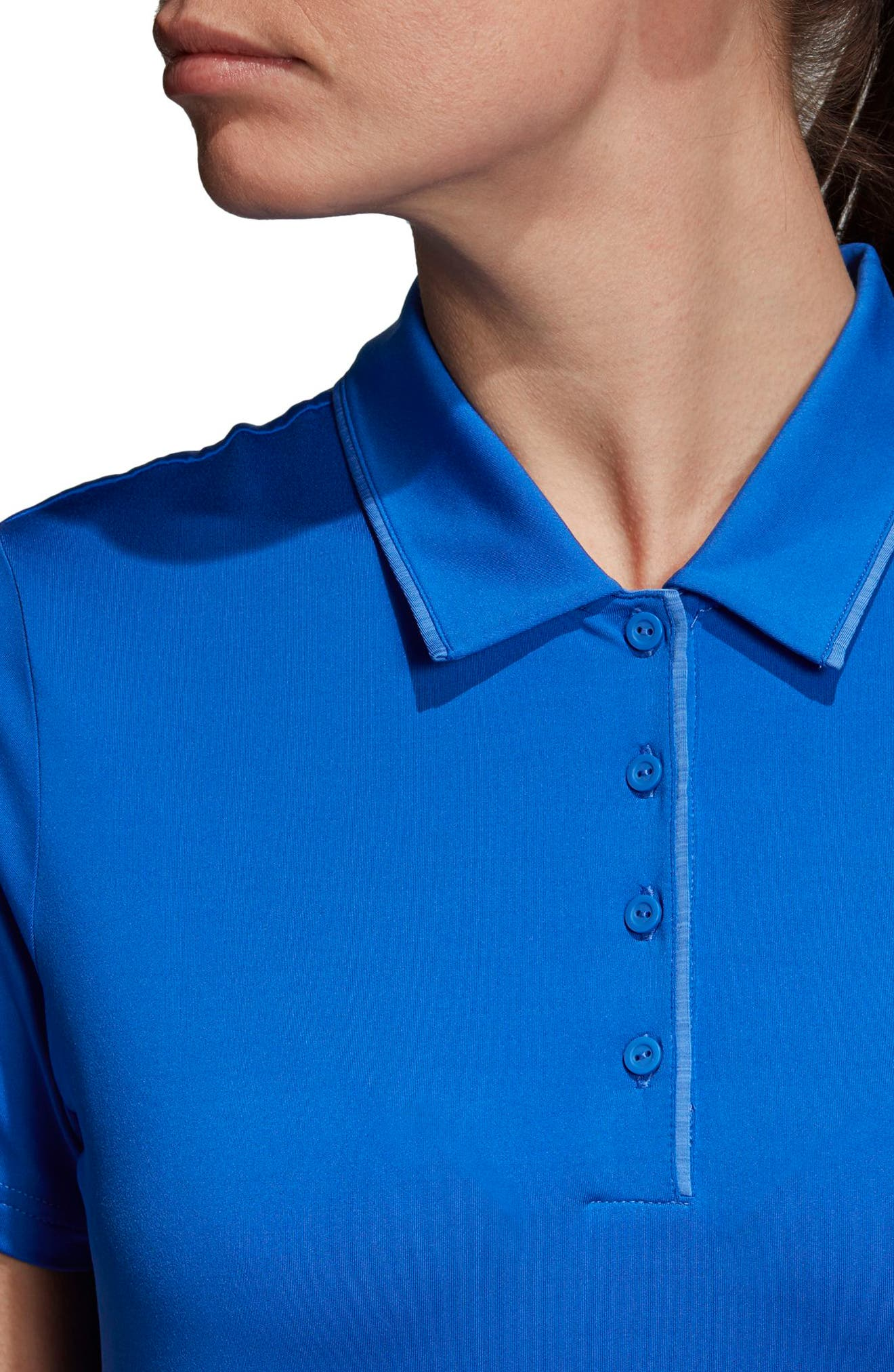 Essentials Ultimate 365 Polo,                             Alternate thumbnail 4, color,                             Hi-Res Blue
