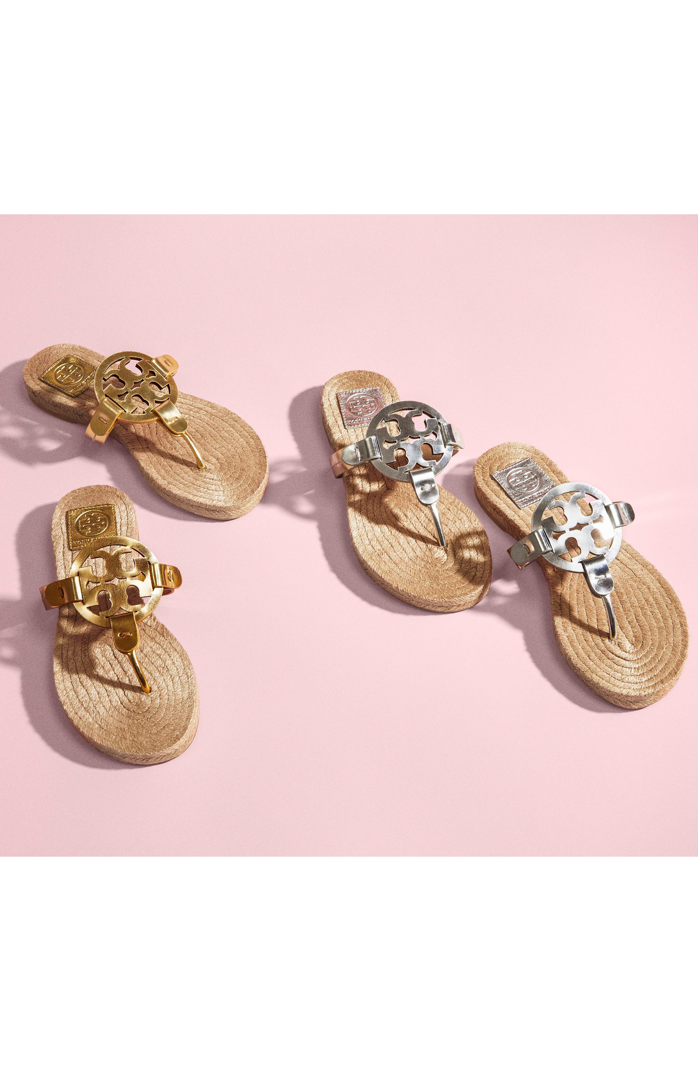 Alternate Image 7  - Tory Burch Miller Espadrille Sandal (Women)