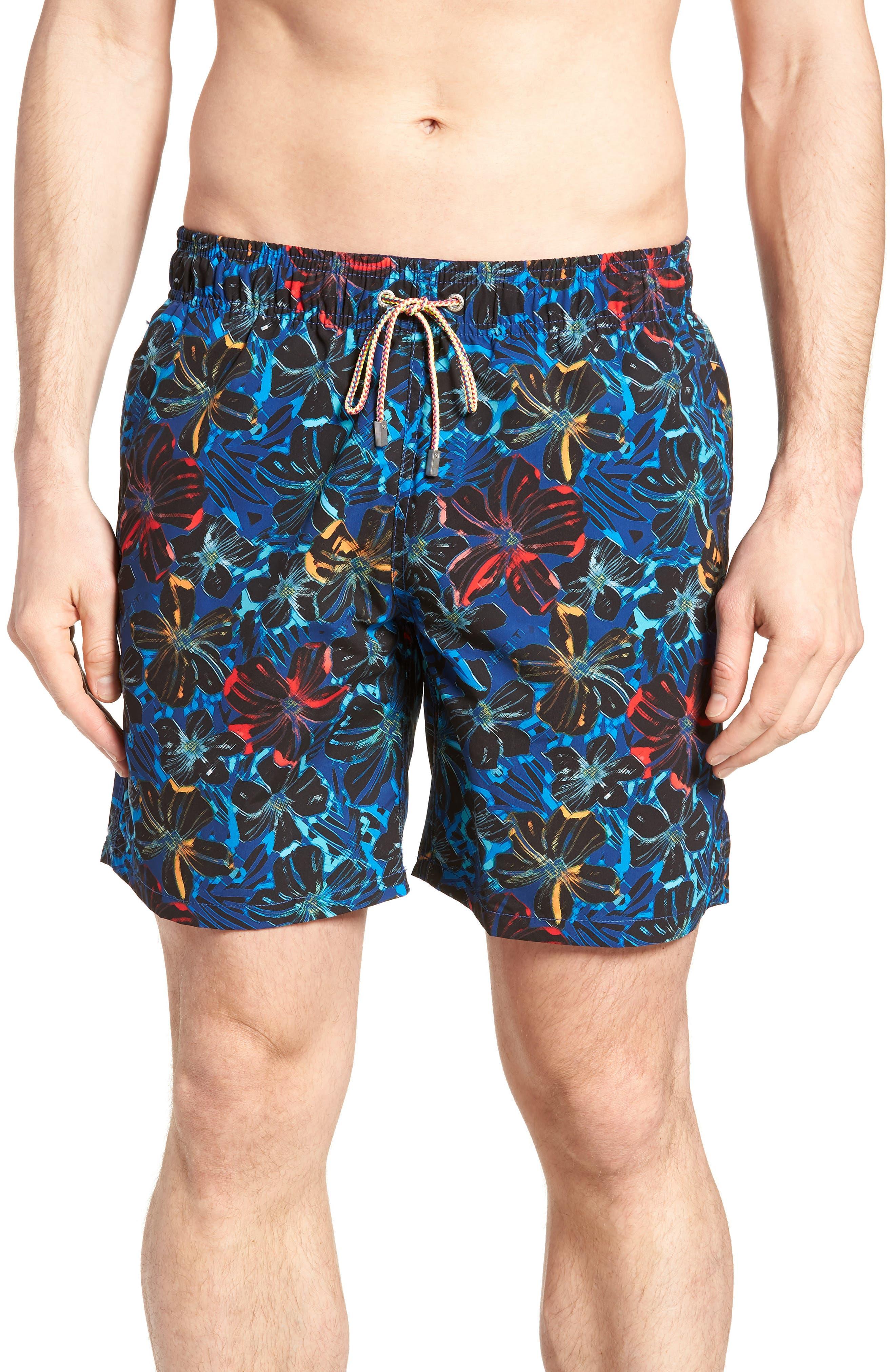 Swim Trunks,                         Main,                         color, Midnight
