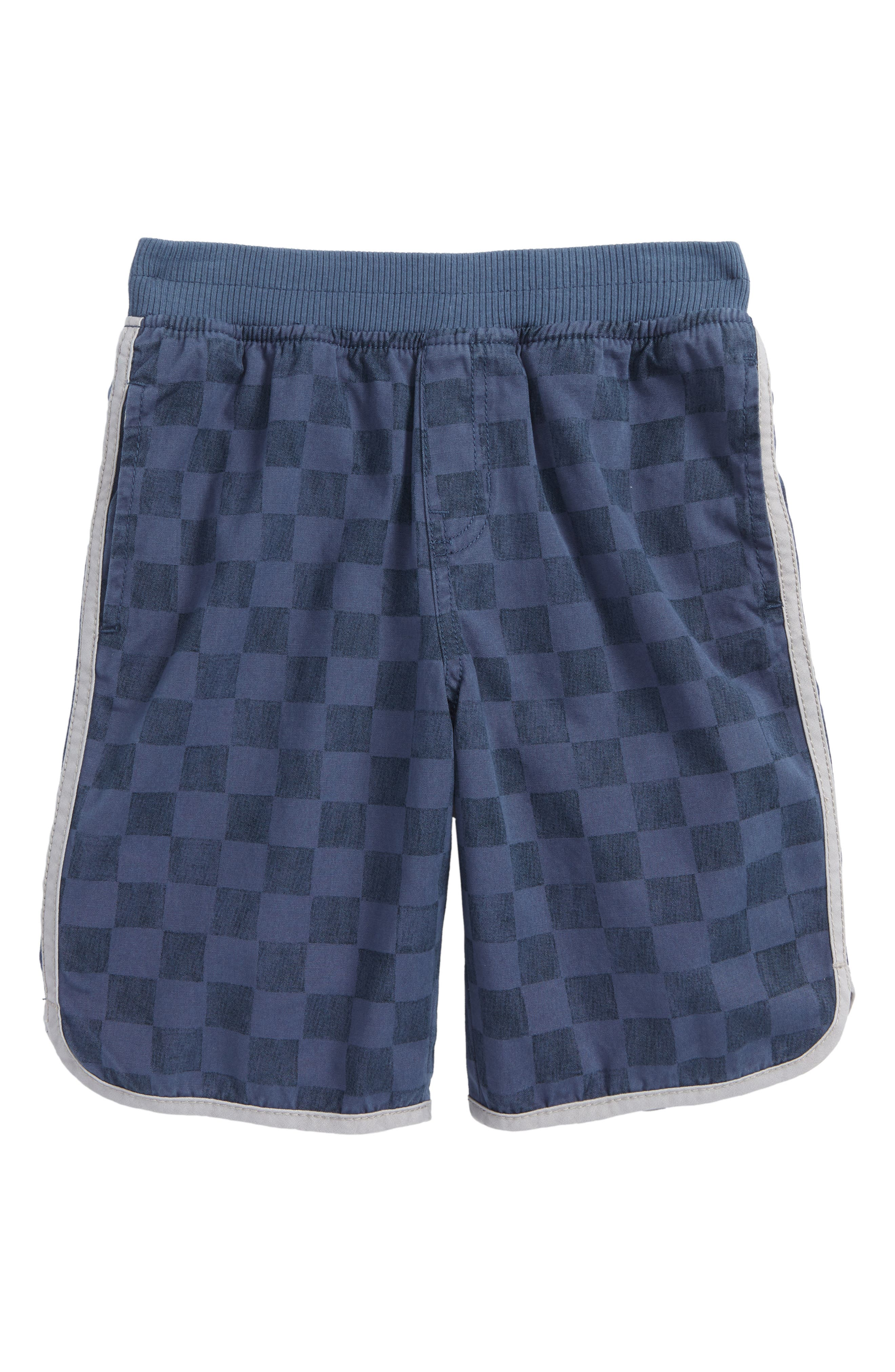 Piped Shorts,                         Main,                         color, Loch Blue Checkerboard