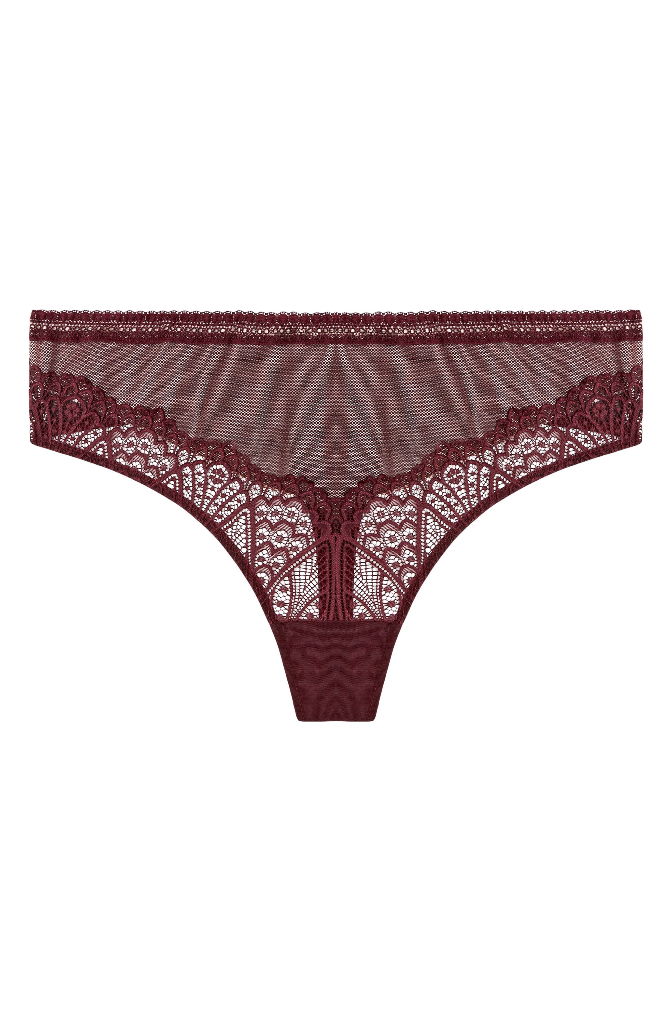 Darcy Thong,                             Main thumbnail 1, color,                             Berry
