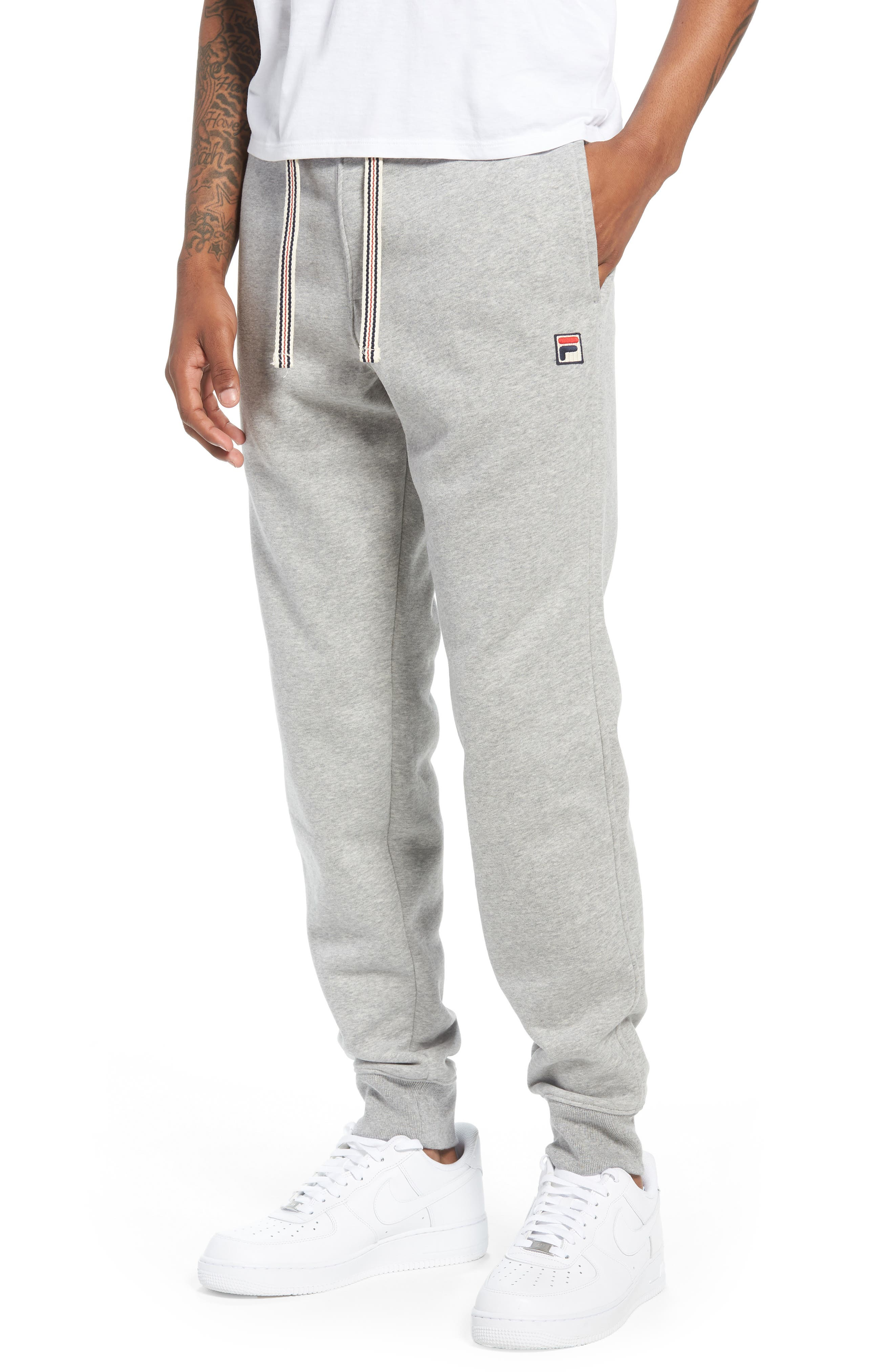 Jogger Pants,                             Main thumbnail 1, color,                             Heather Grey