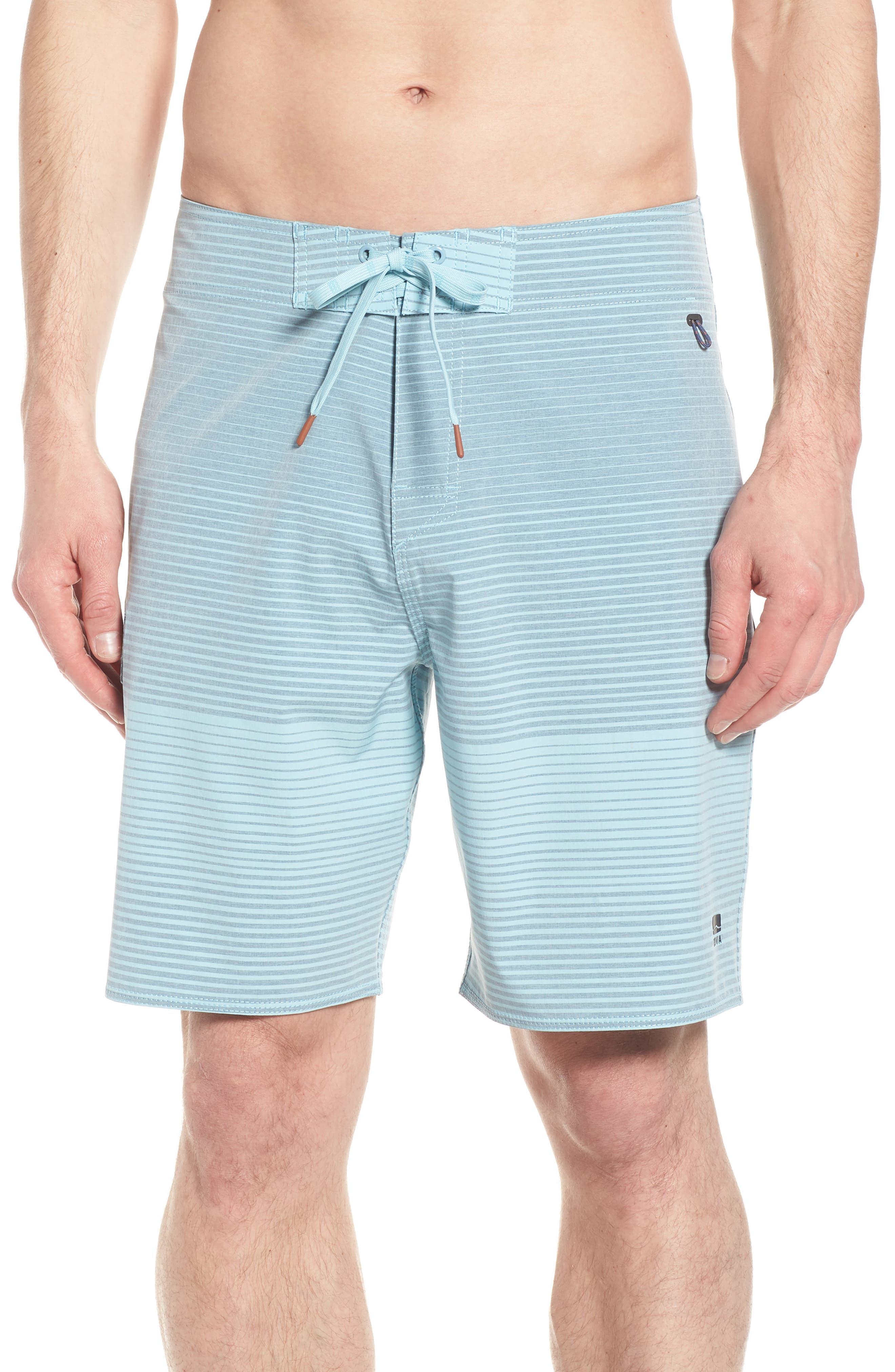 Water Level Board Shorts,                         Main,                         color, Harbour Blue
