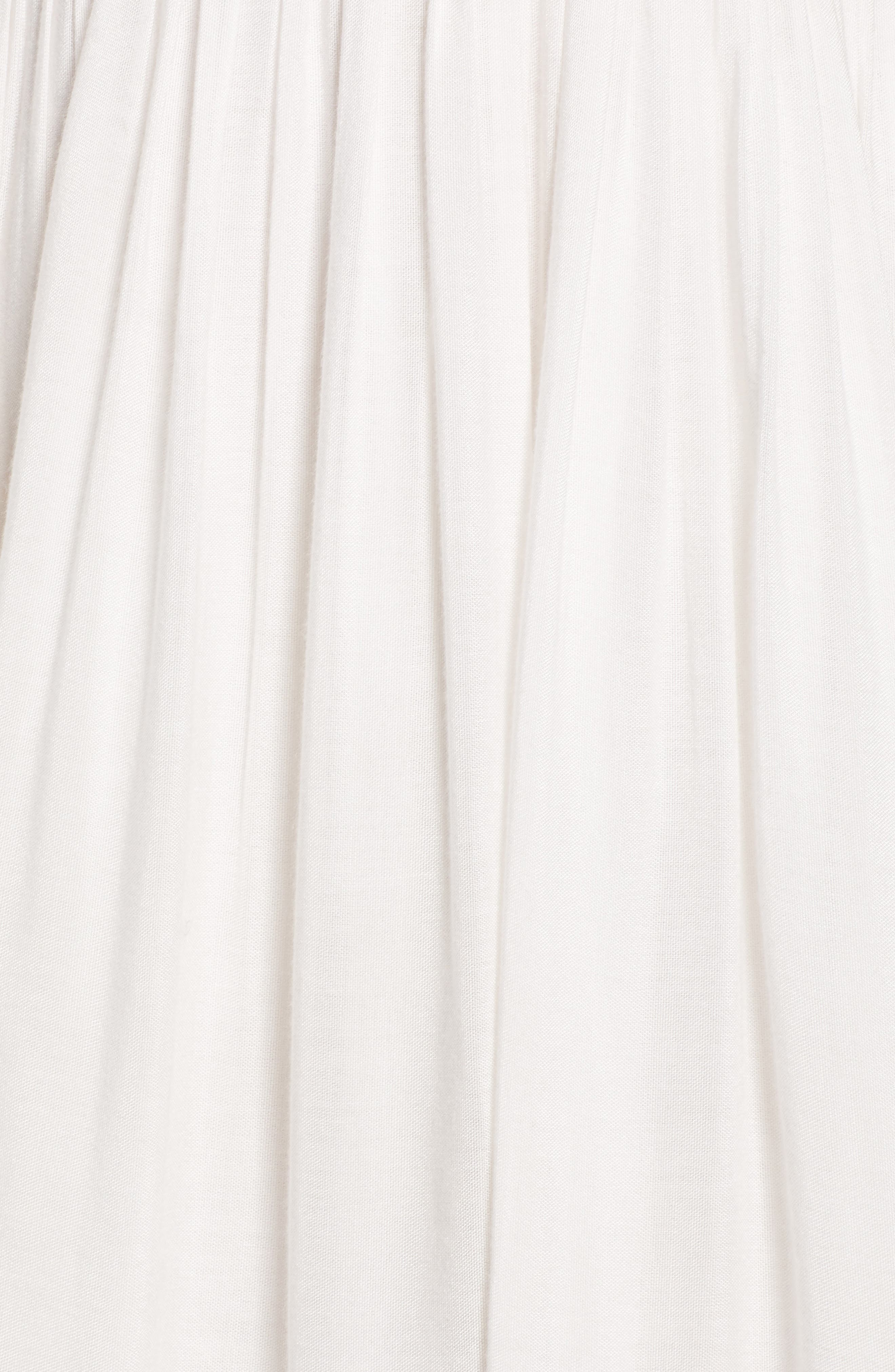 Janika Crochet & Lace Trim Dress,                             Alternate thumbnail 7, color,                             Eggshell