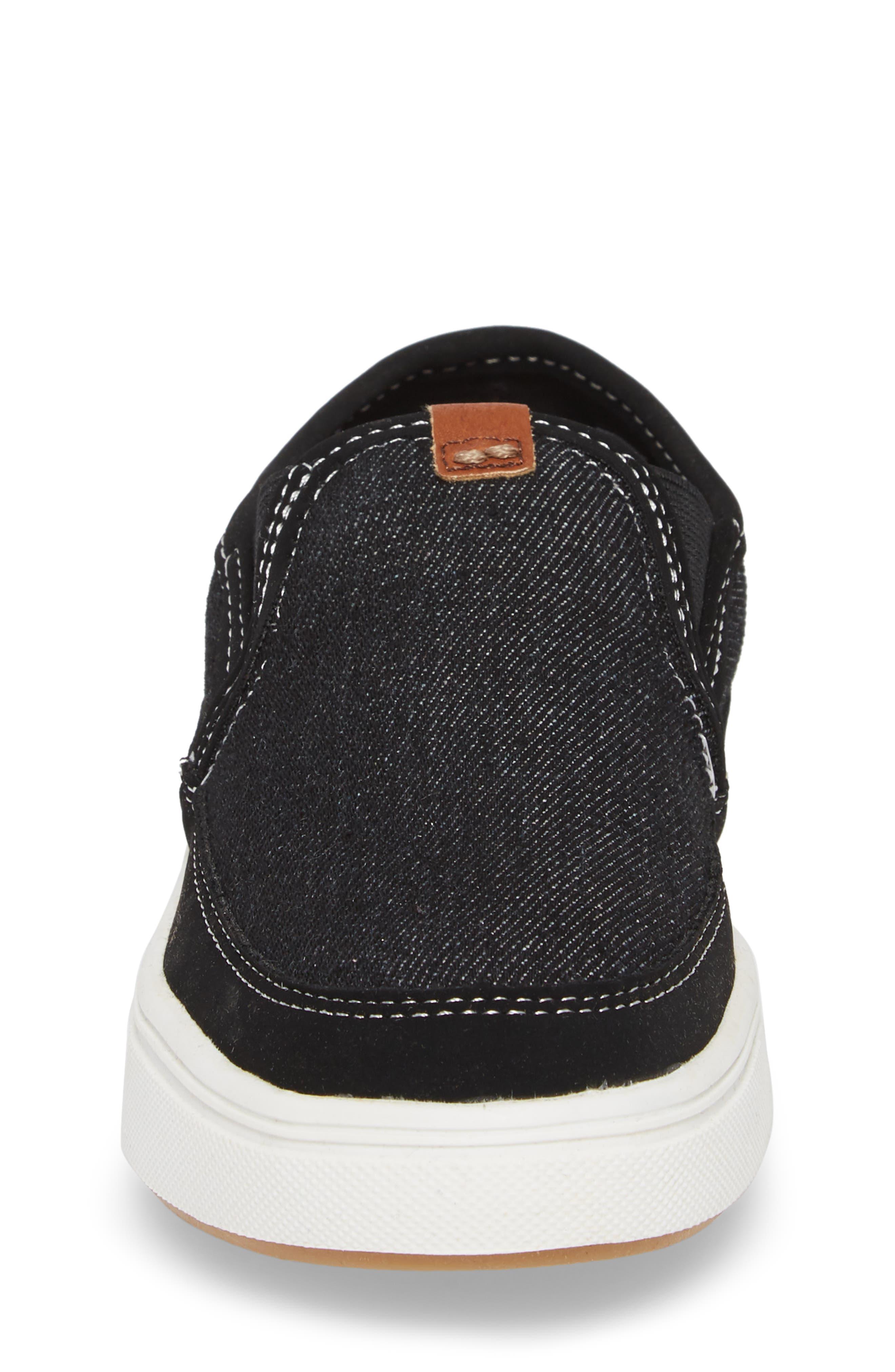 Bfoleeo Slip-On Sneaker,                             Alternate thumbnail 4, color,                             Black