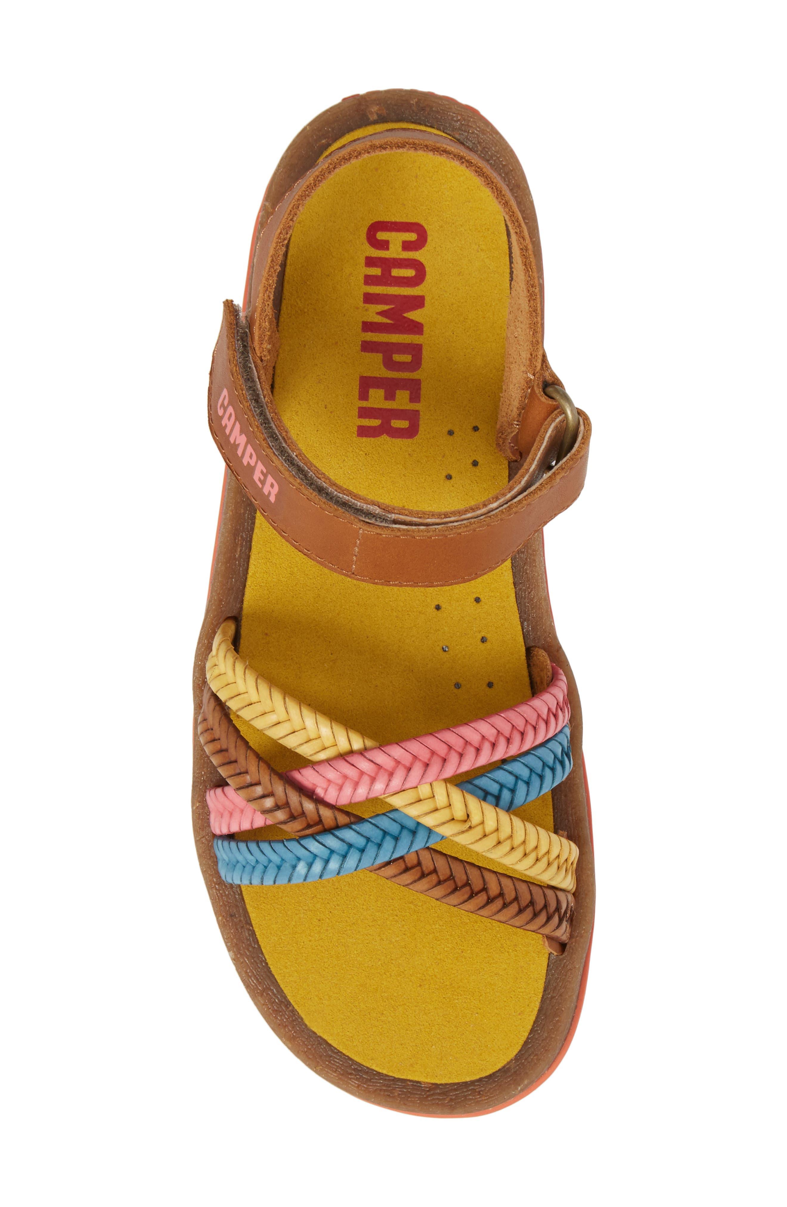 Bicho Braided Sandal,                             Alternate thumbnail 5, color,                             Multi