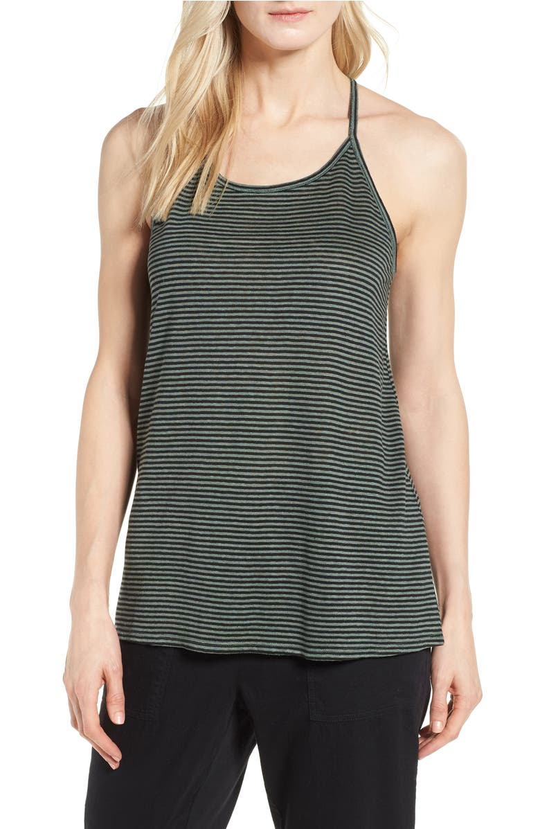 217918232df stripe-organic-linen-tank by eileen-fisher
