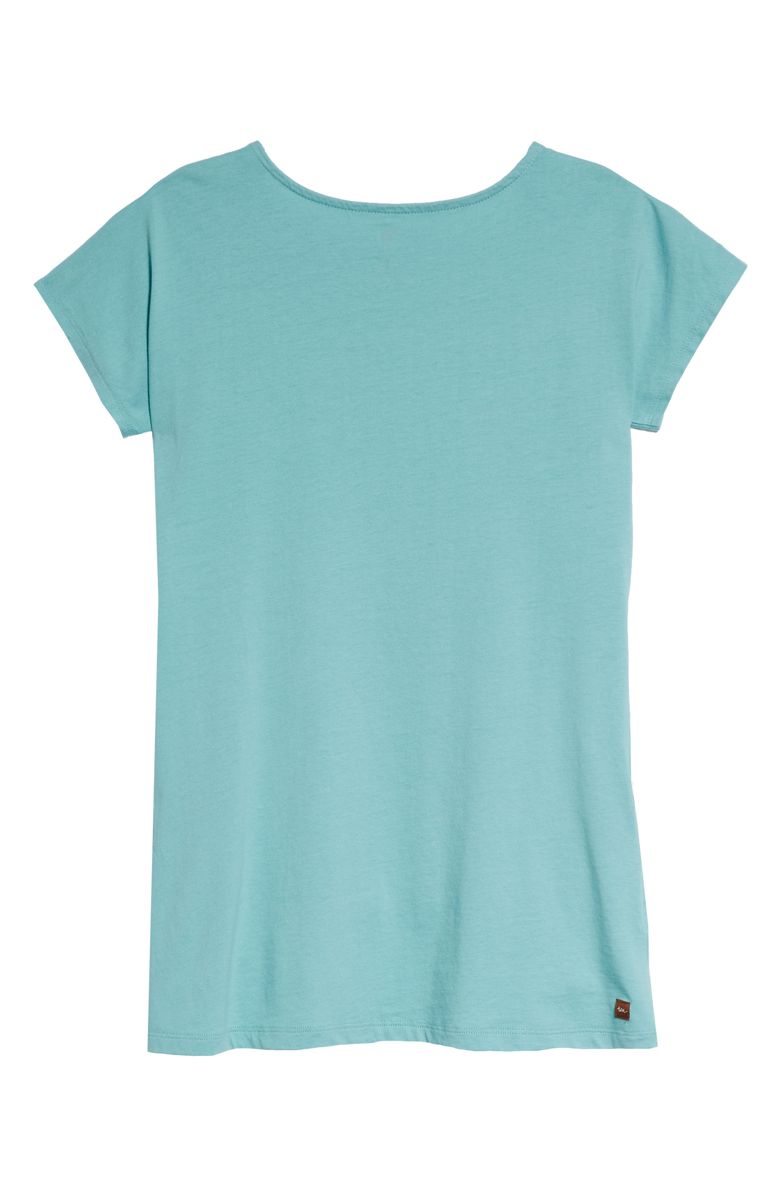 Alternate Image 2  - Tea Collection Button Shoulder T-Shirt Dress (Toddler Girls, Little Girls & Big Girls)