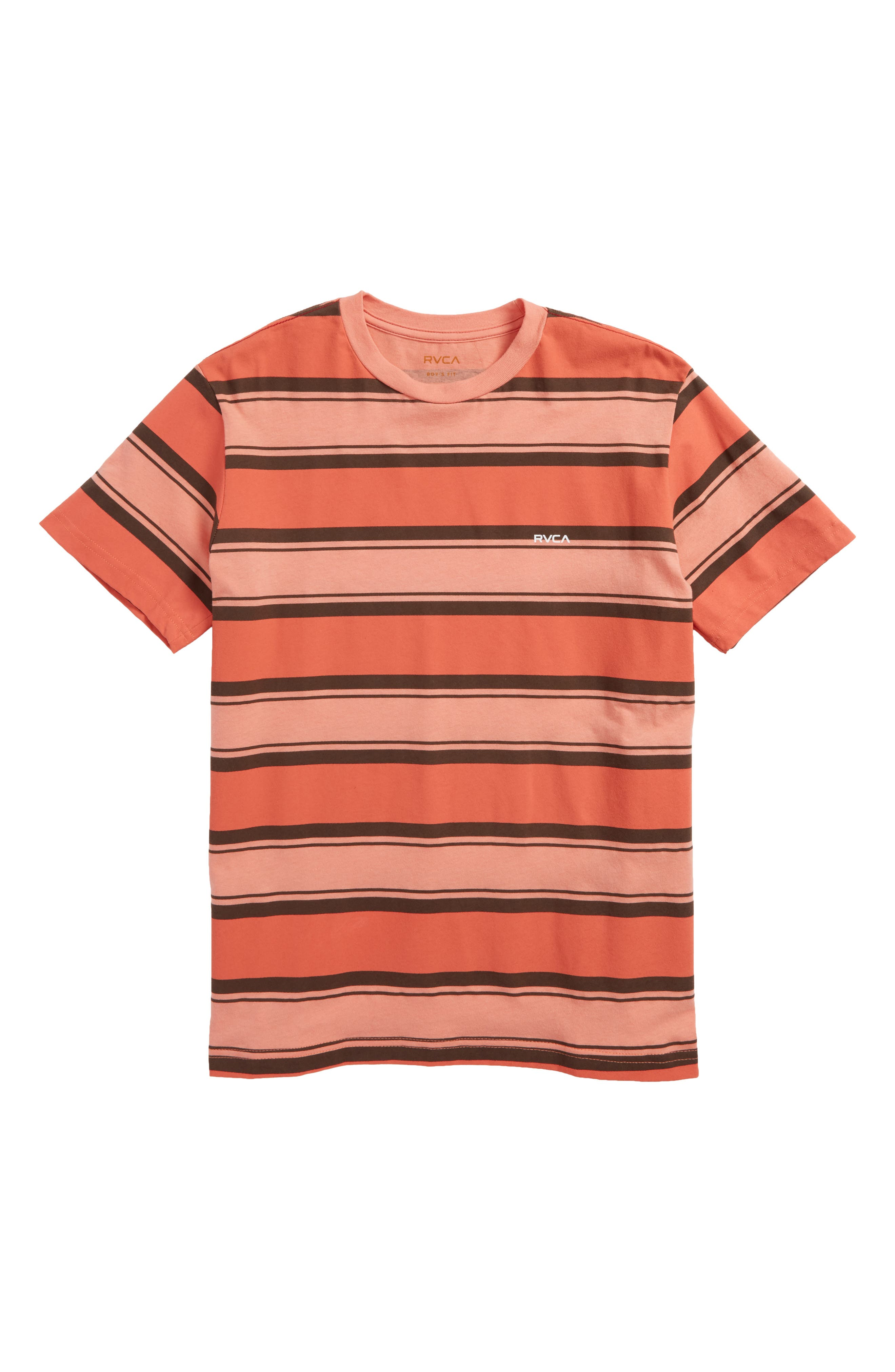RVCA Four Stripe T-Shirt (Big Boys)