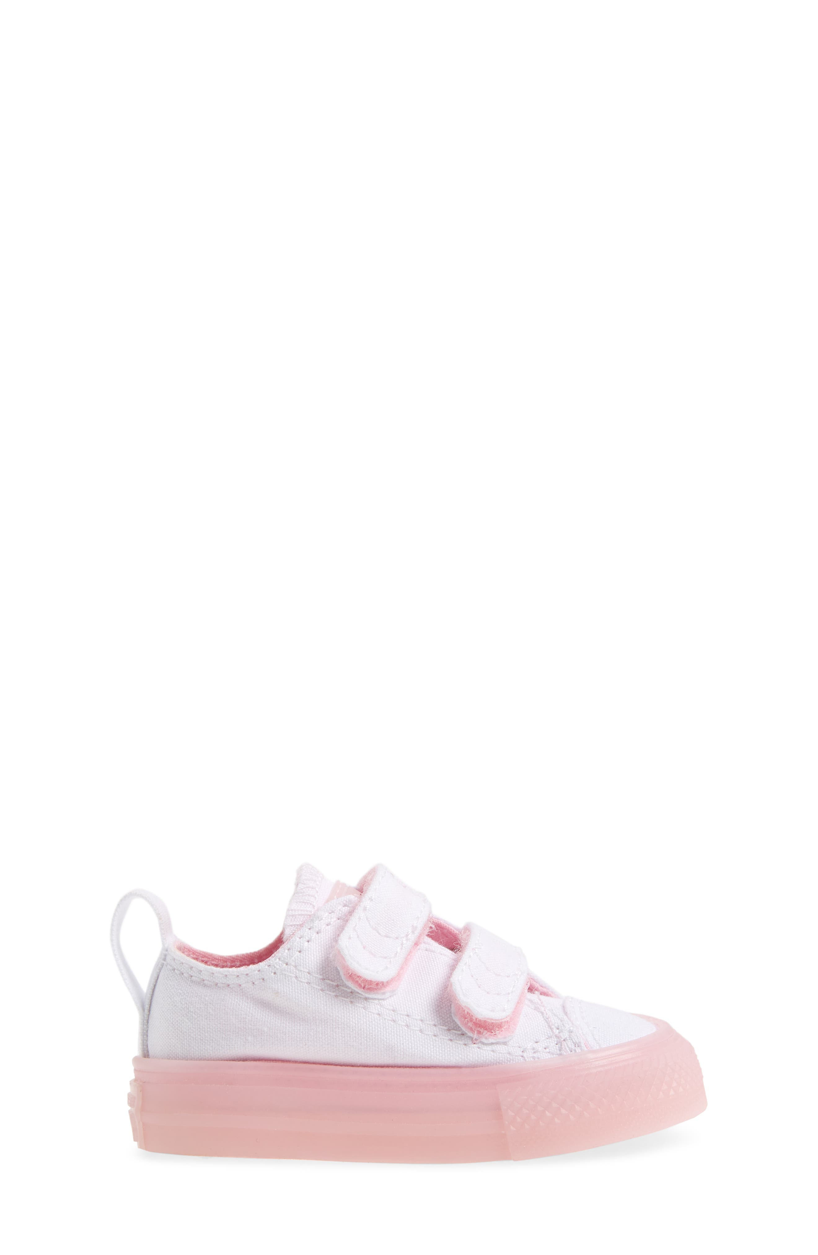 Chuck Taylor<sup>®</sup> All Star<sup>®</sup> Jelly Sneaker,                             Alternate thumbnail 3, color,                             White/ Cherry