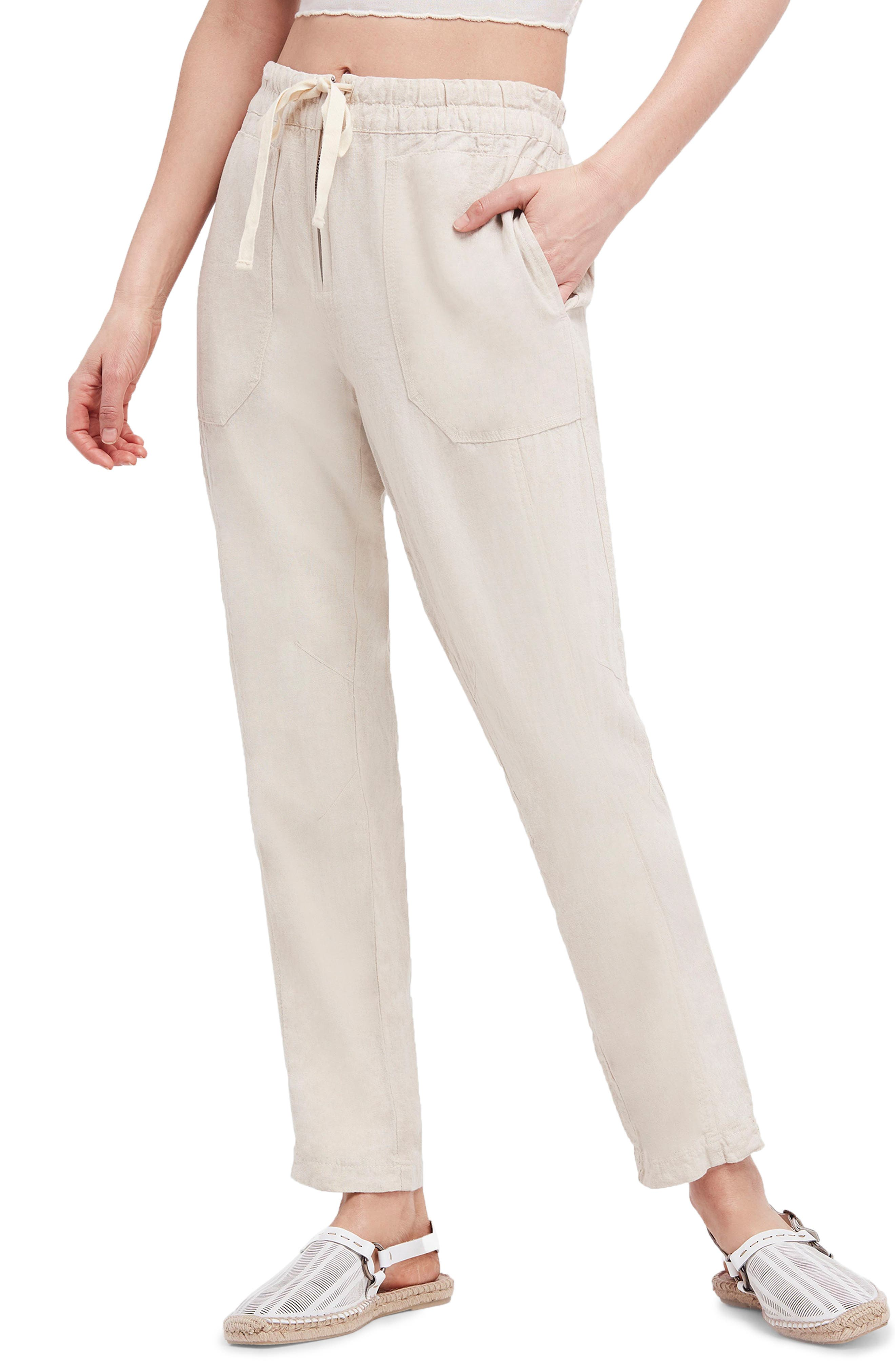 Palmer Skinny Utility Pants,                         Main,                         color, Ivory