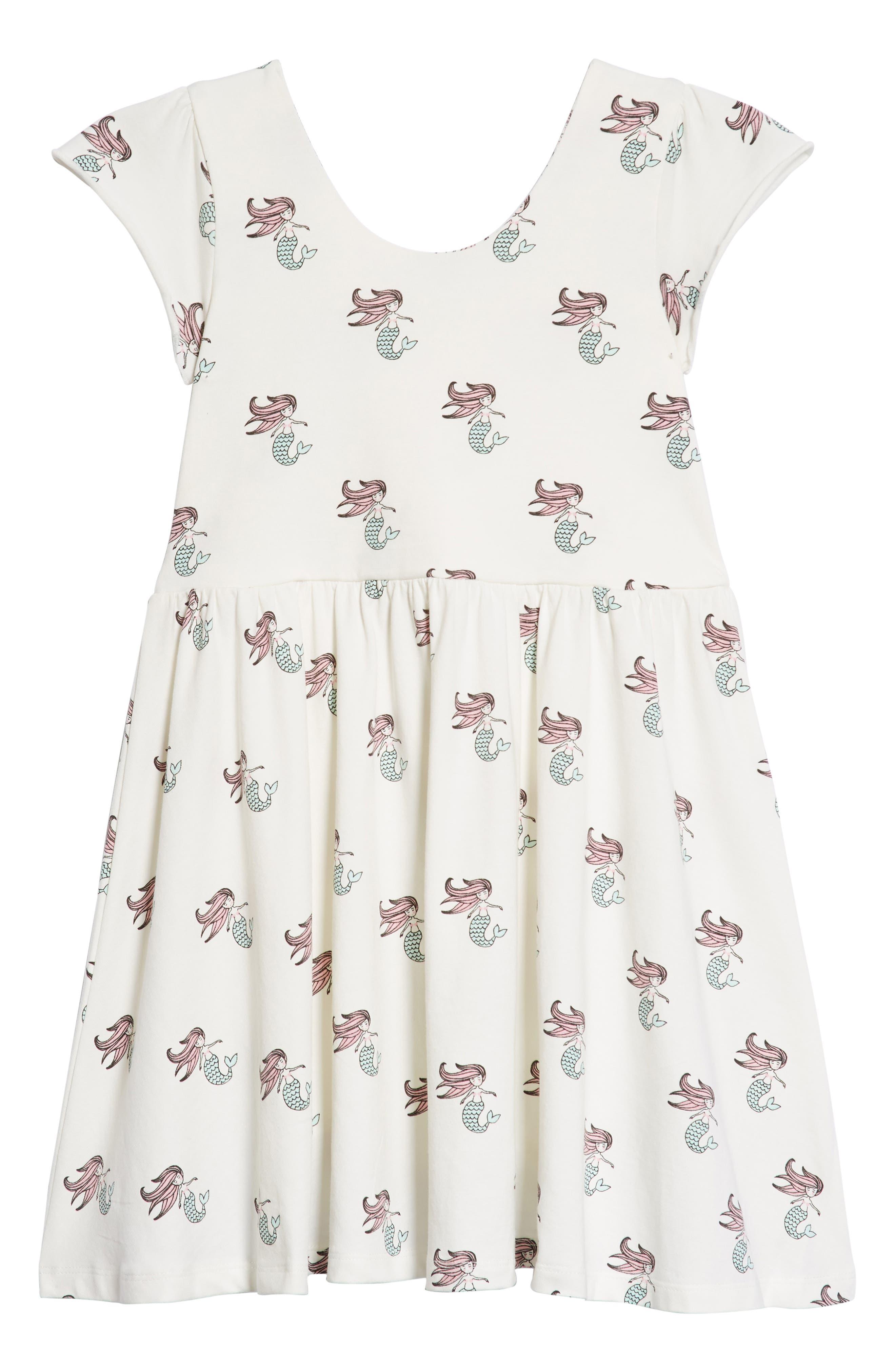 Let's Dance Mermaid Print Dress,                         Main,                         color, Ocean Tails