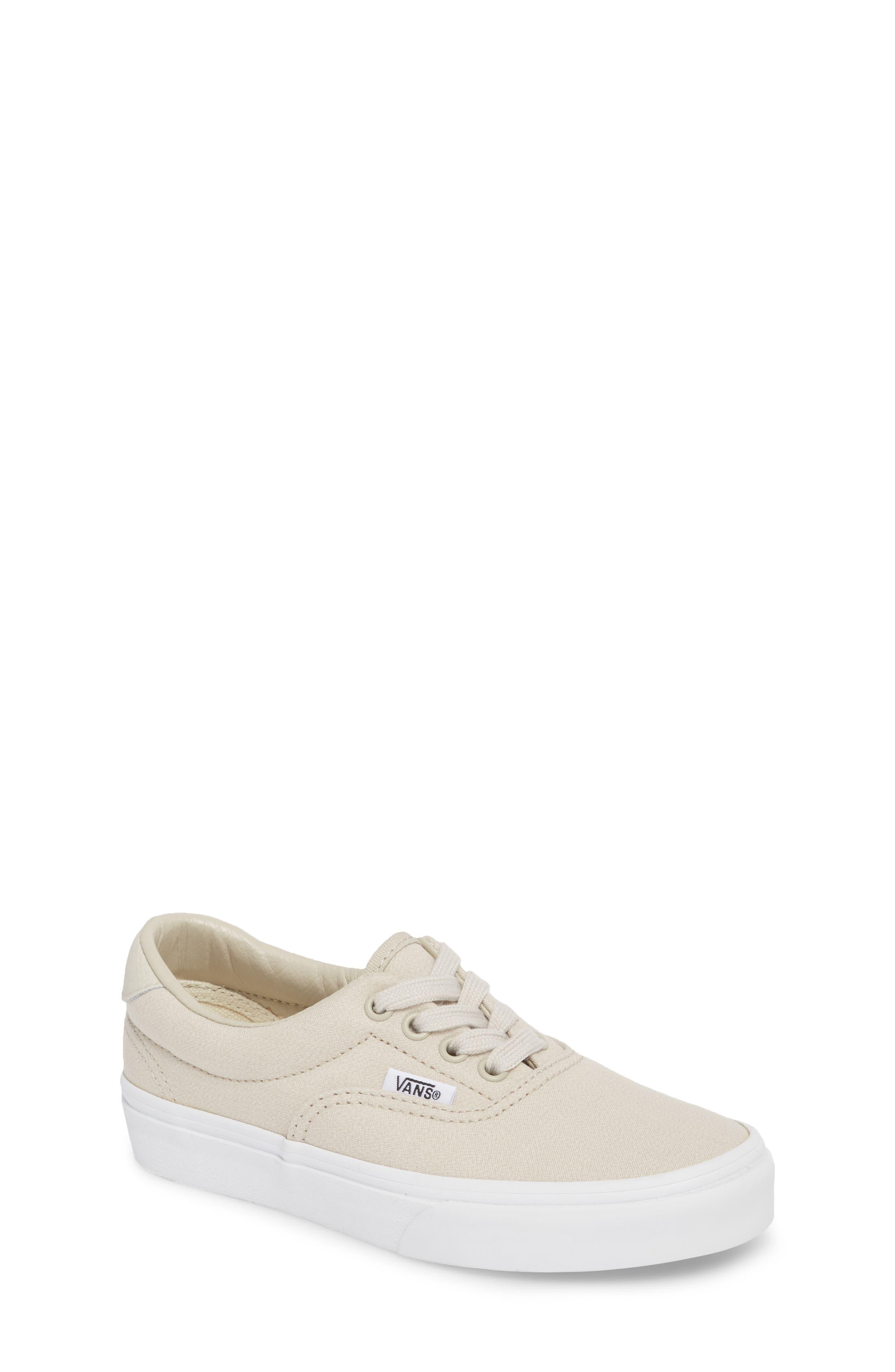 Era 59 Bleacher Sneaker,                         Main,                         color, Silver Lining/ True White