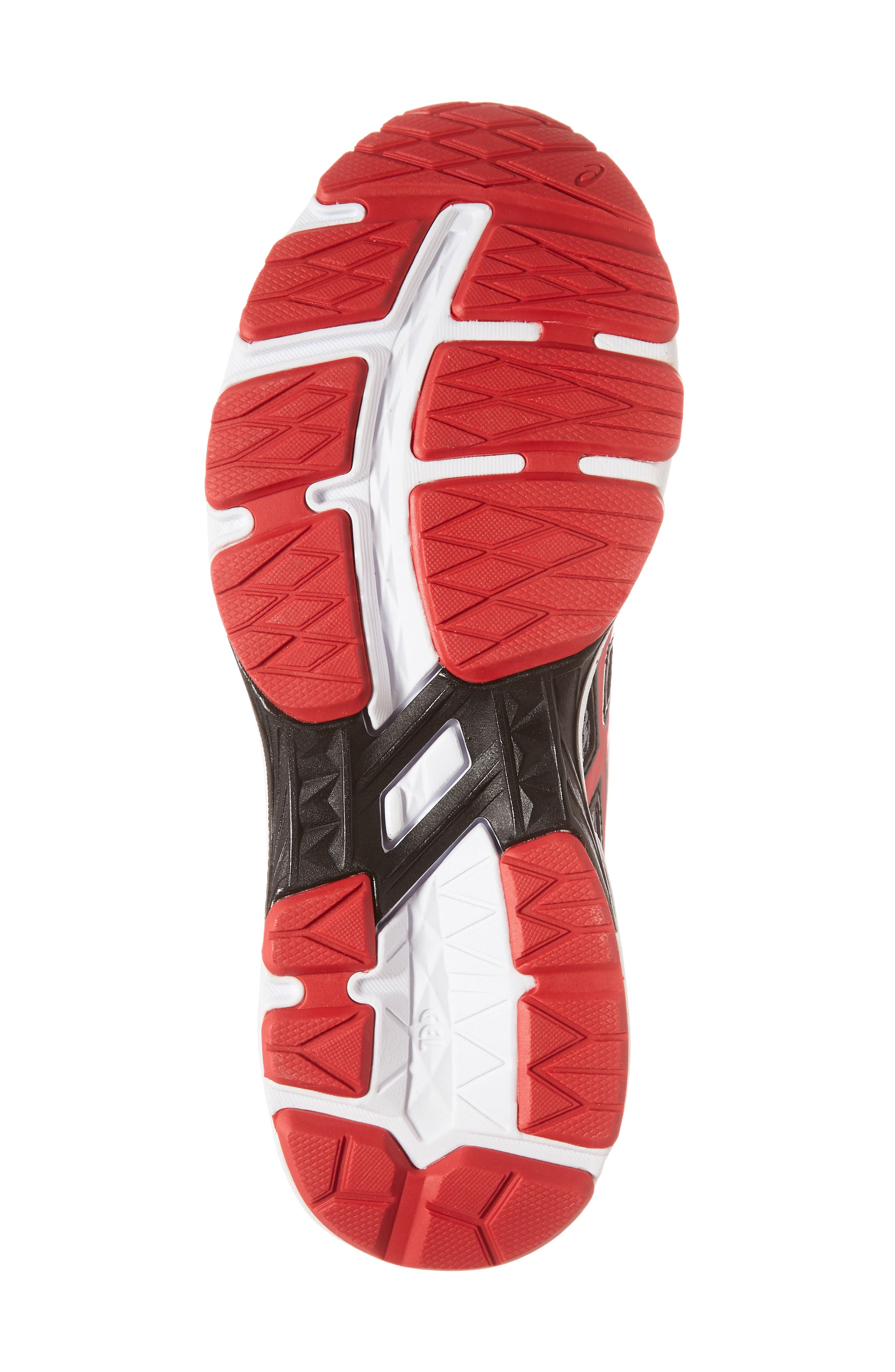 Asics GT-1000<sup>™</sup> 6 GS Sneaker,                             Alternate thumbnail 6, color,                             Stone Grey/ Classic Red/ Black