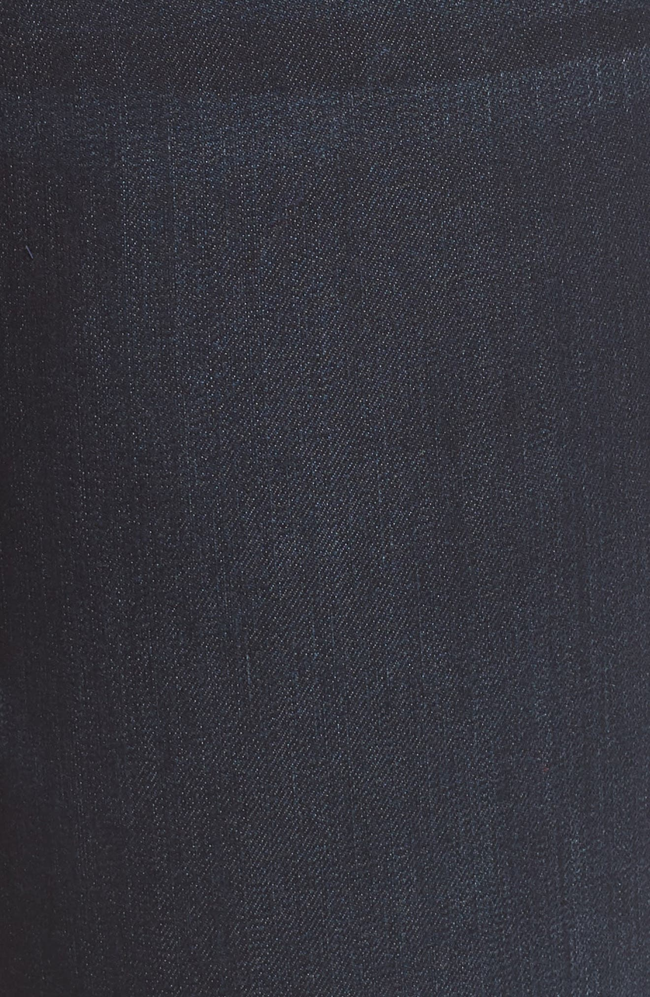 Stretch Denim Bermuda Shorts,                             Alternate thumbnail 6, color,                             Indigo