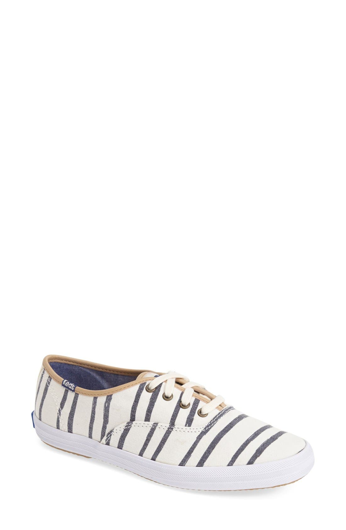 Main Image - Keds® 'Champion - Washed Beach Stripe' Sneaker (Women)