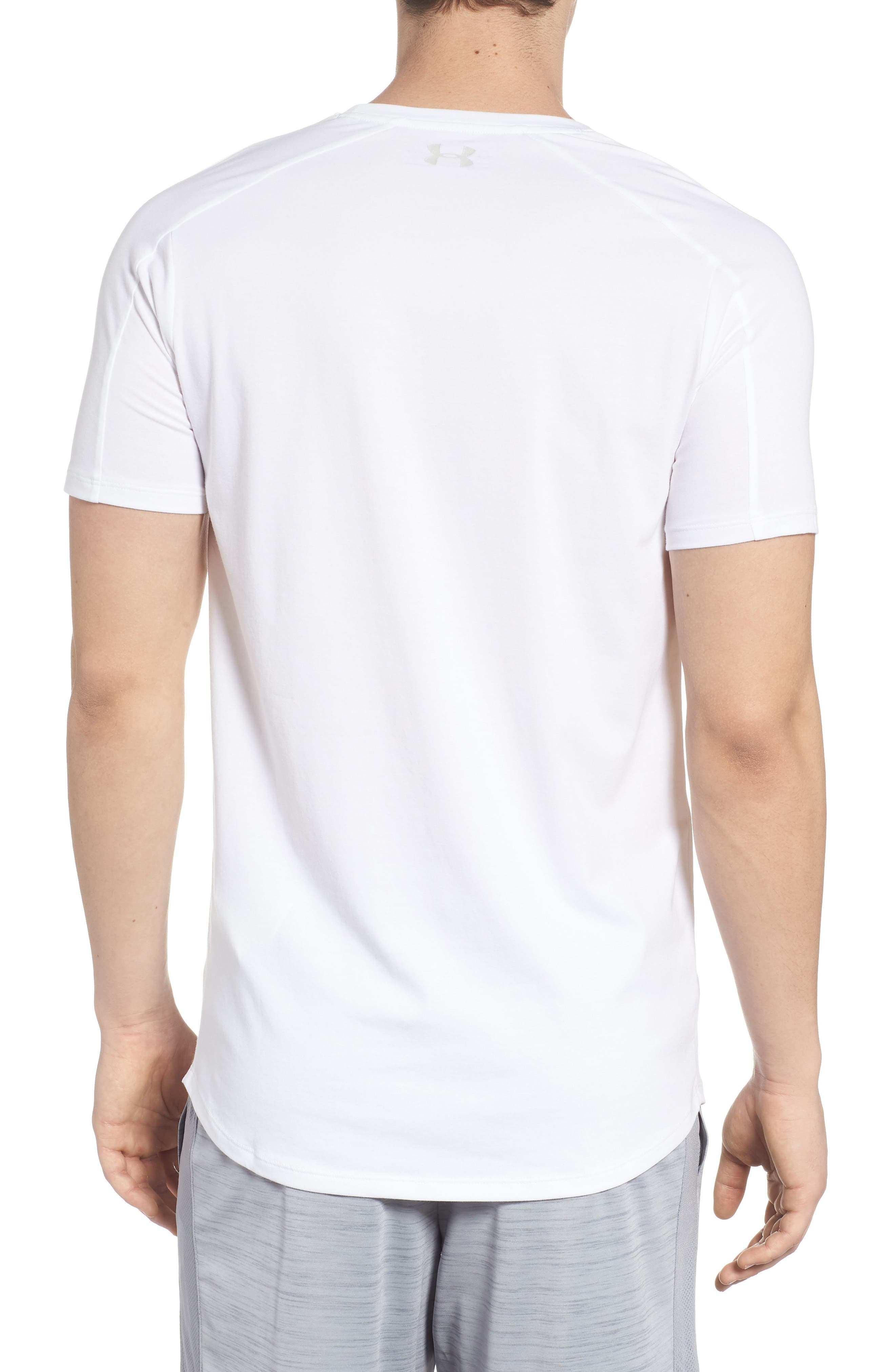 Perpetual Crewneck T-Shirt,                             Alternate thumbnail 2, color,                             White/ White