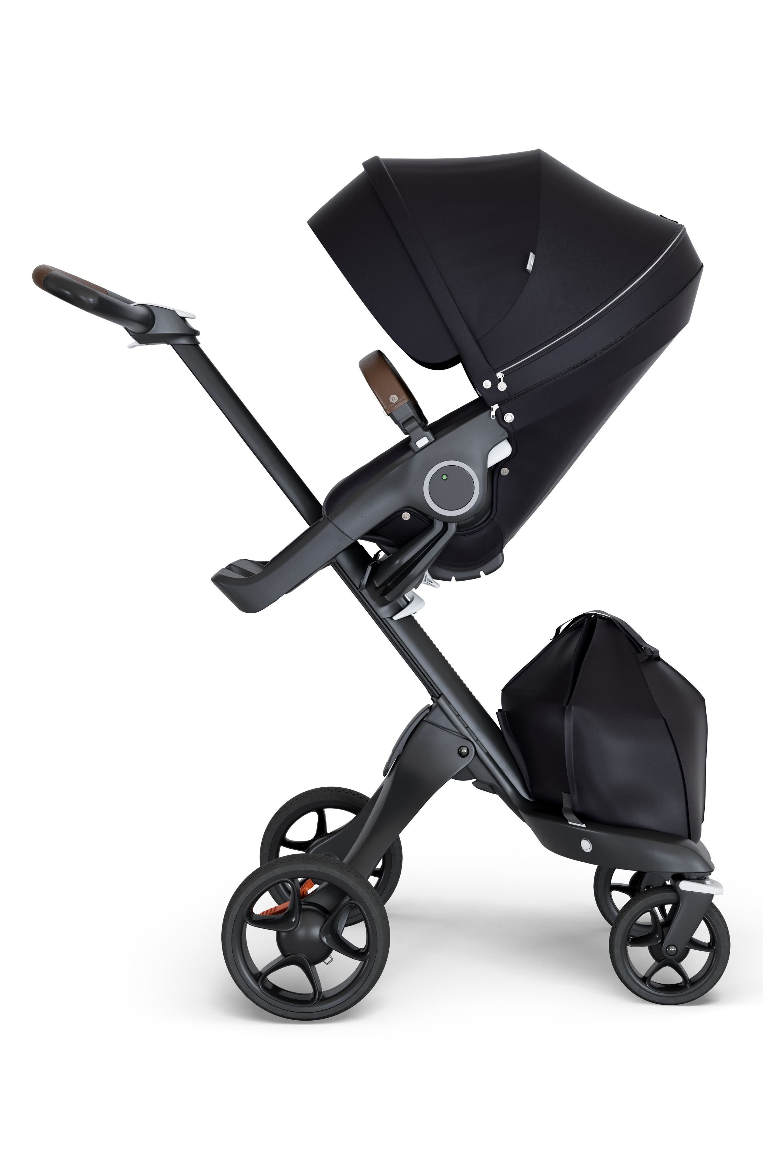 Xplory<sup>®</sup> Black Chassis Stroller,                         Main,                         color, Black