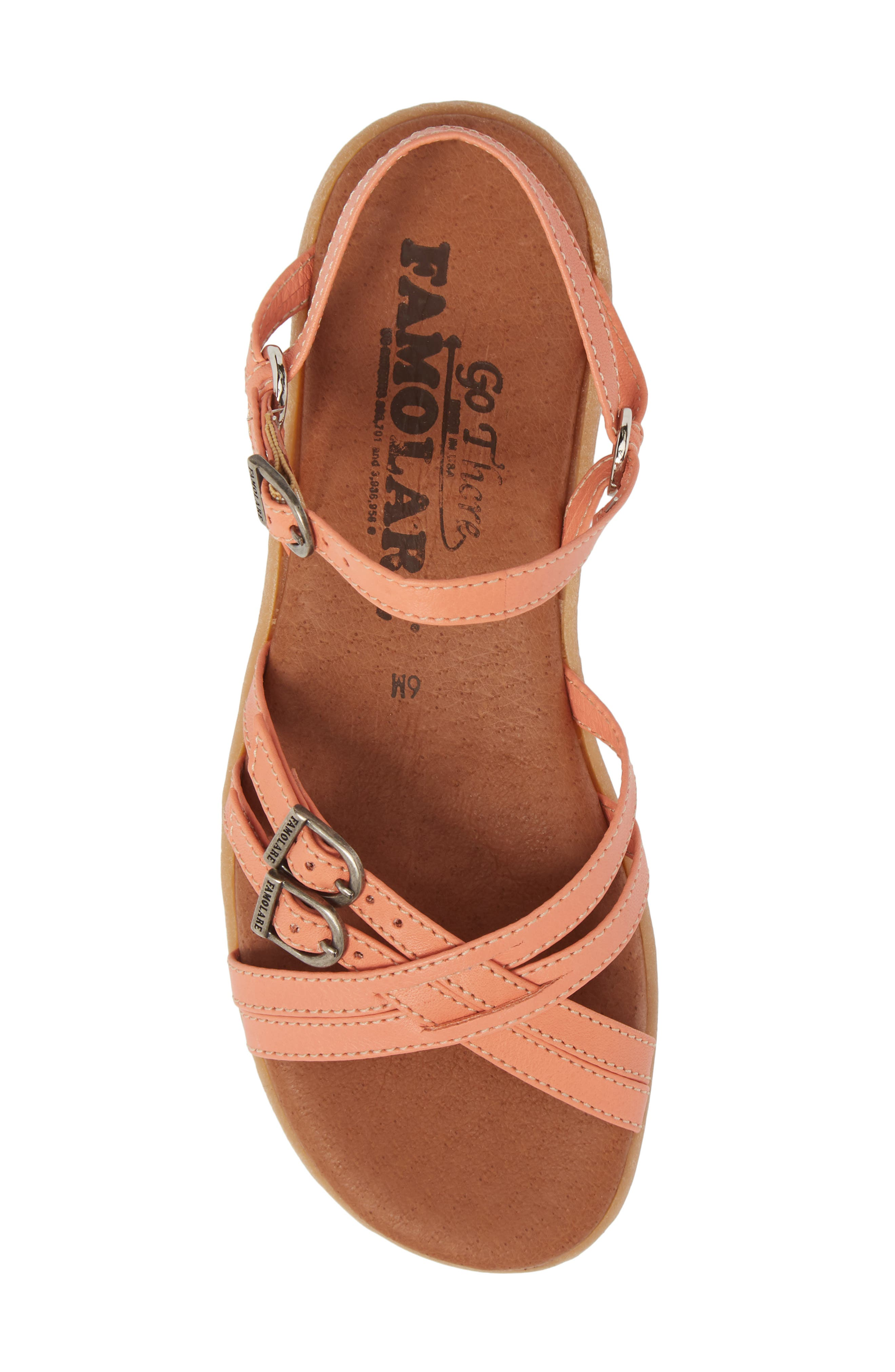 Alternate Image 5  - Famolare Strapsody Buckle Sandal (Women)