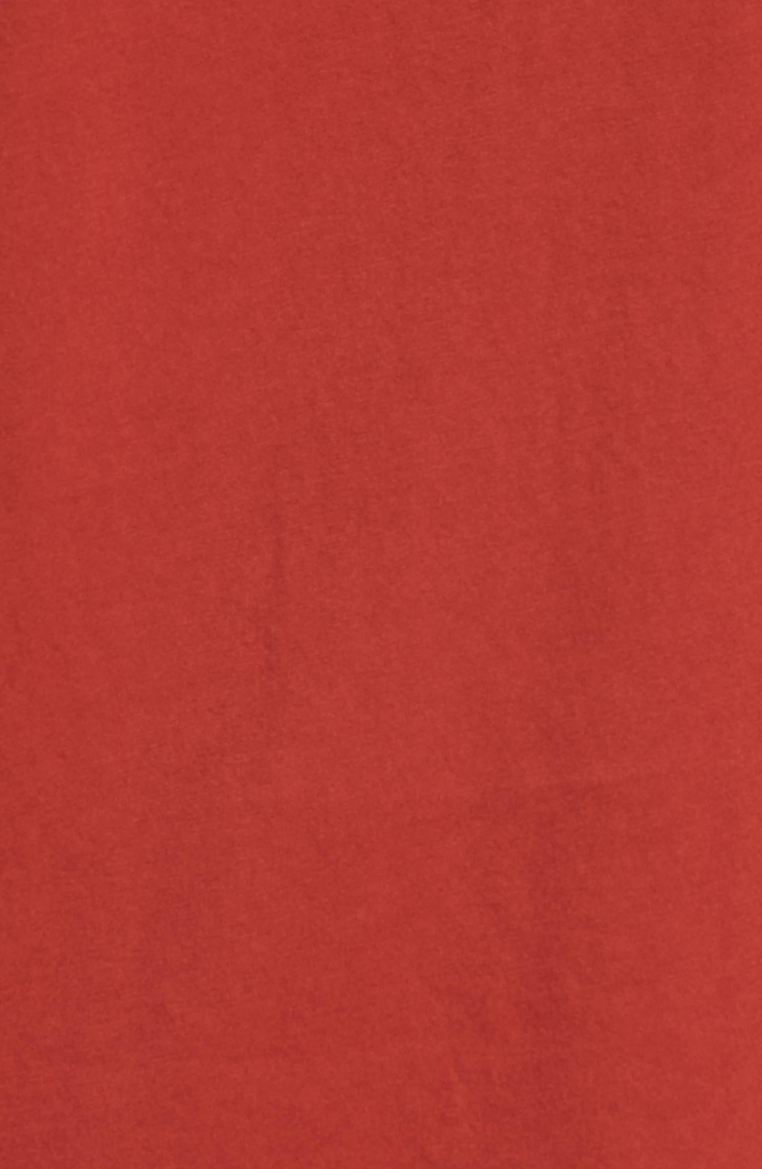 Brandon Pima T-Shirt,                             Alternate thumbnail 5, color,                             Brick