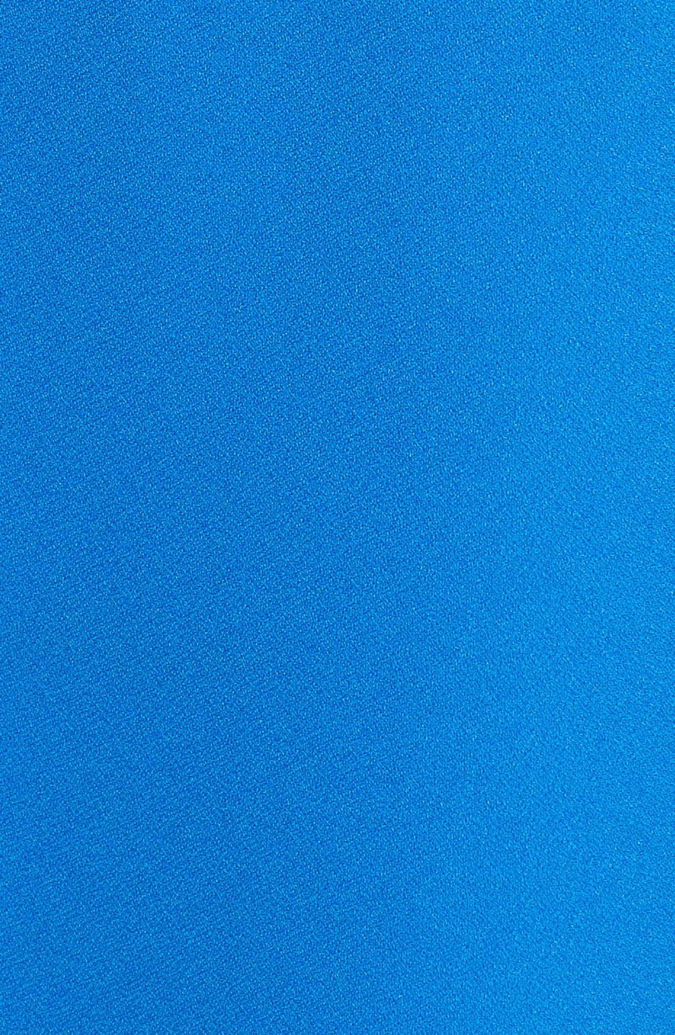 Keyhole Shift Dress,                             Alternate thumbnail 6, color,                             Cobalt
