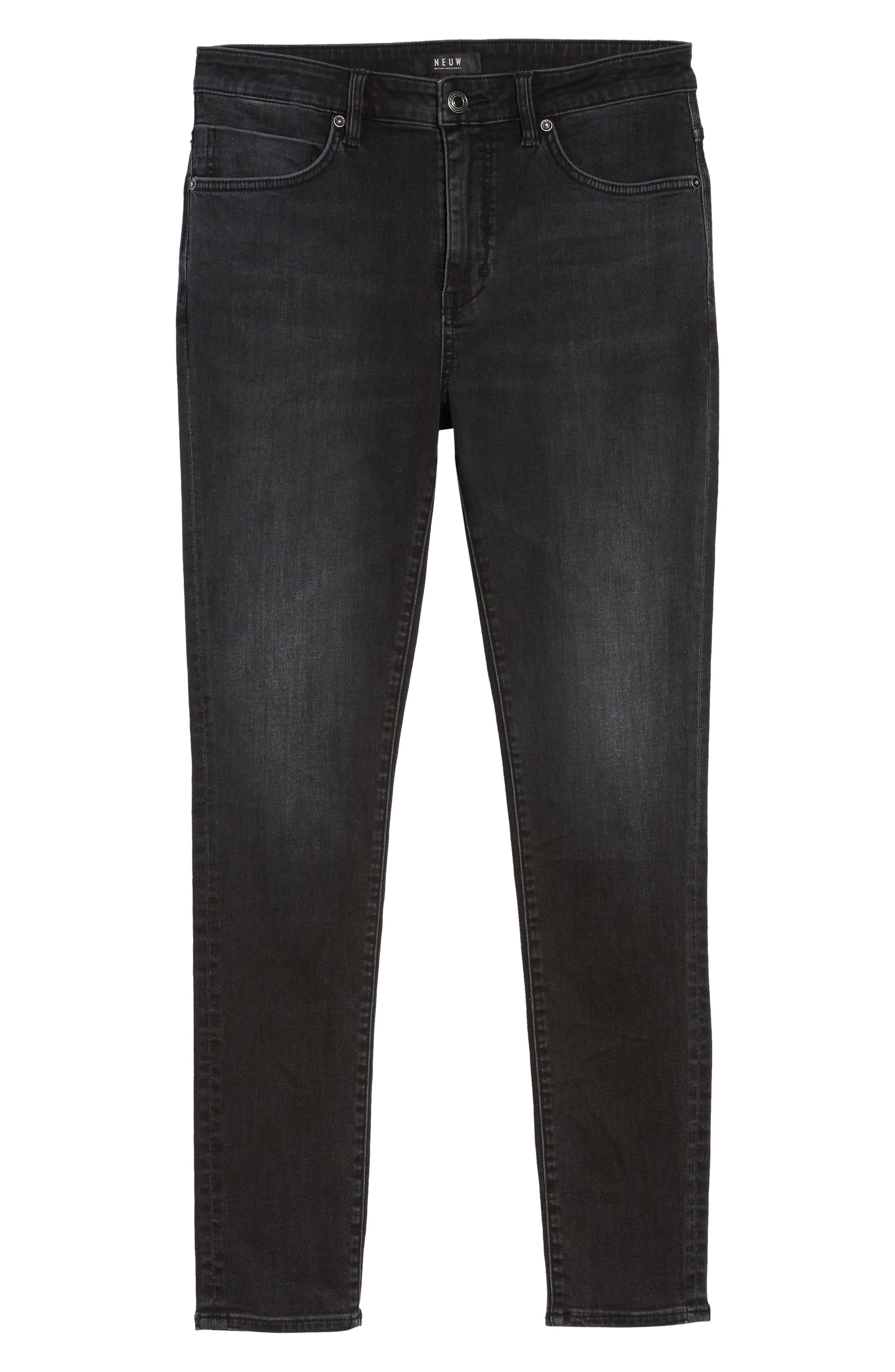 Iggy Skinny Fit Jeans,                             Alternate thumbnail 6, color,                             Wolfgang