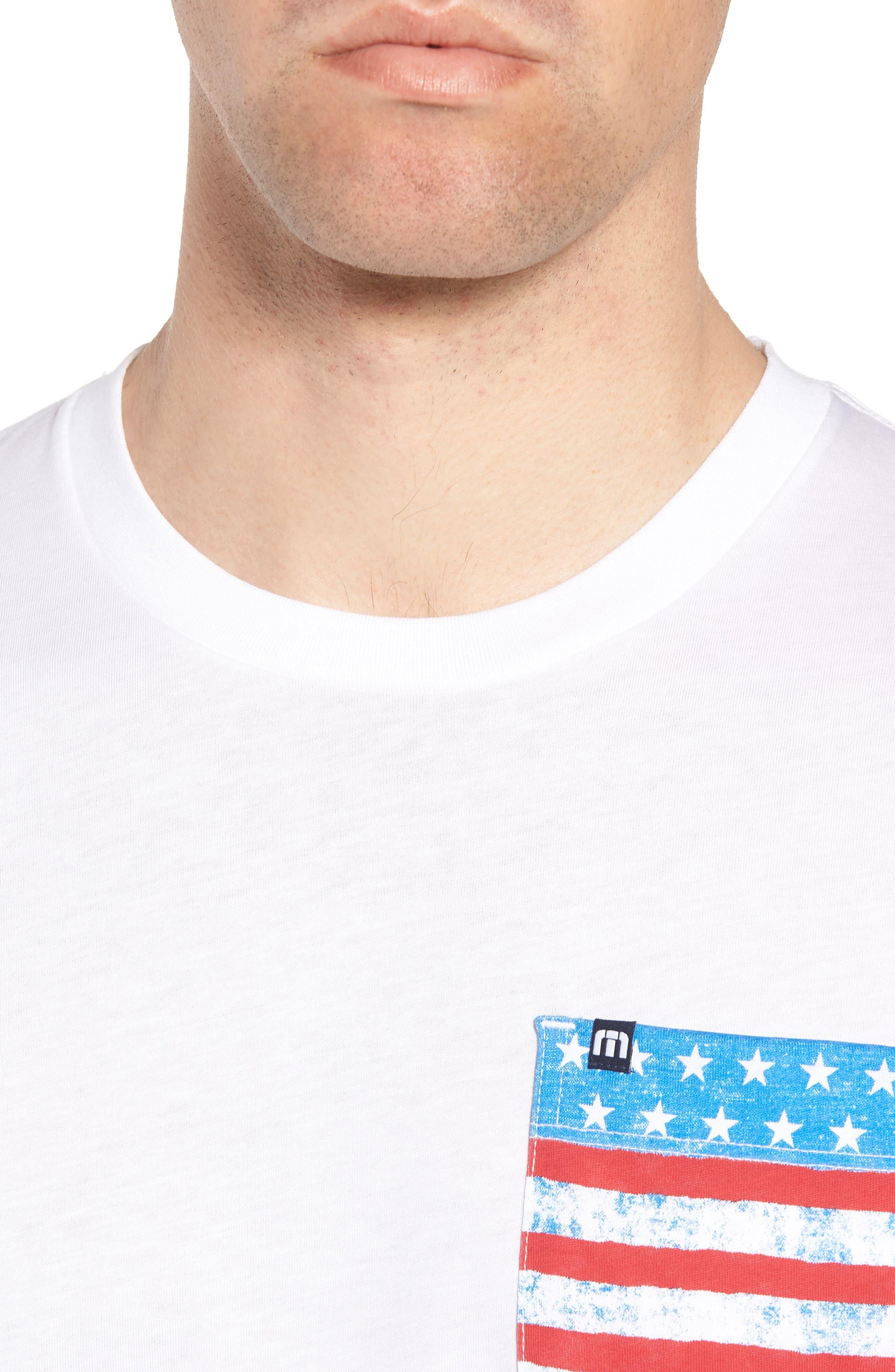 Chocolate Barrels Crewneck T-Shirt,                             Alternate thumbnail 4, color,                             White
