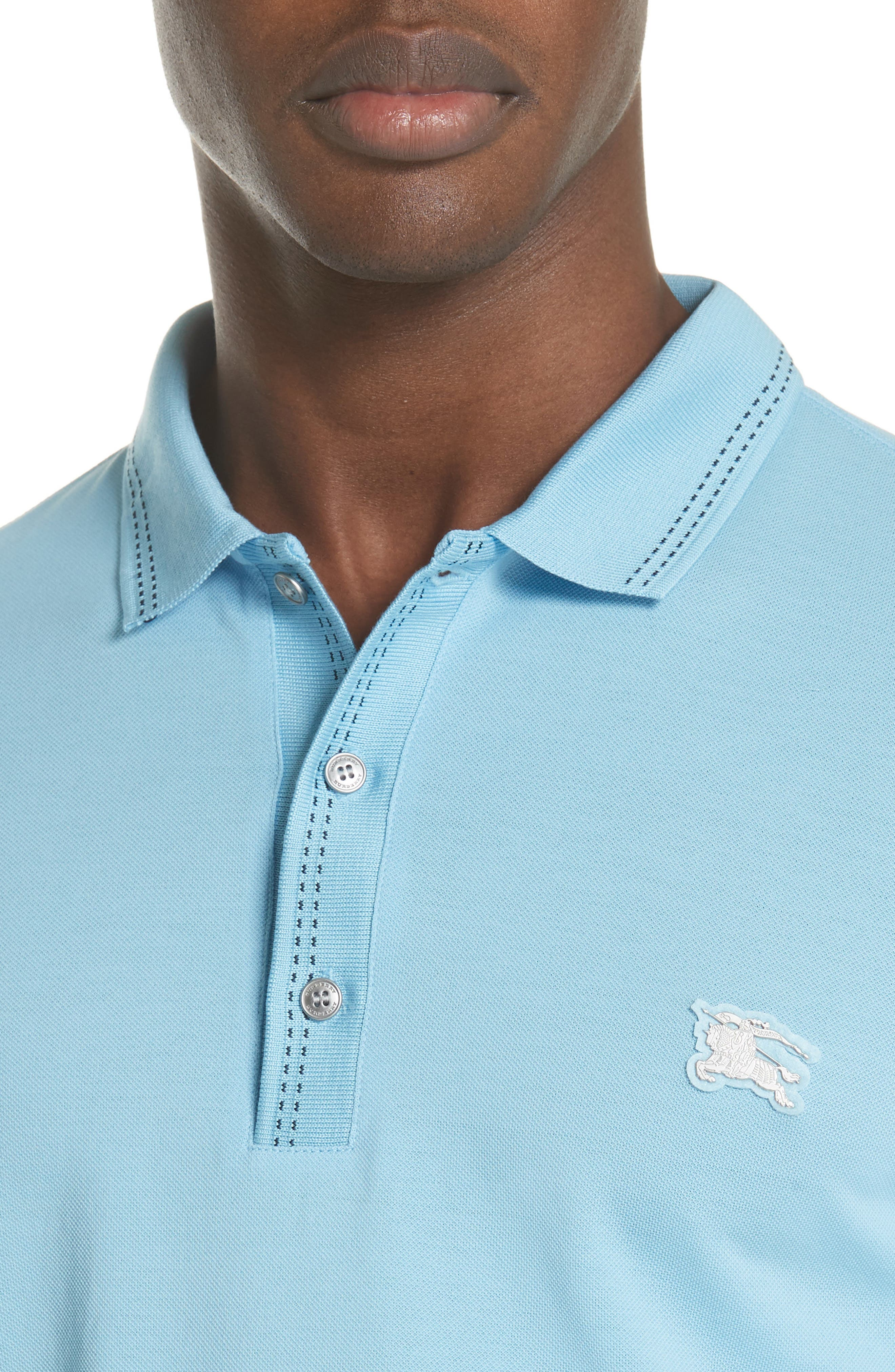 Kenforth Polo,                             Alternate thumbnail 4, color,                             Pale Turquoise